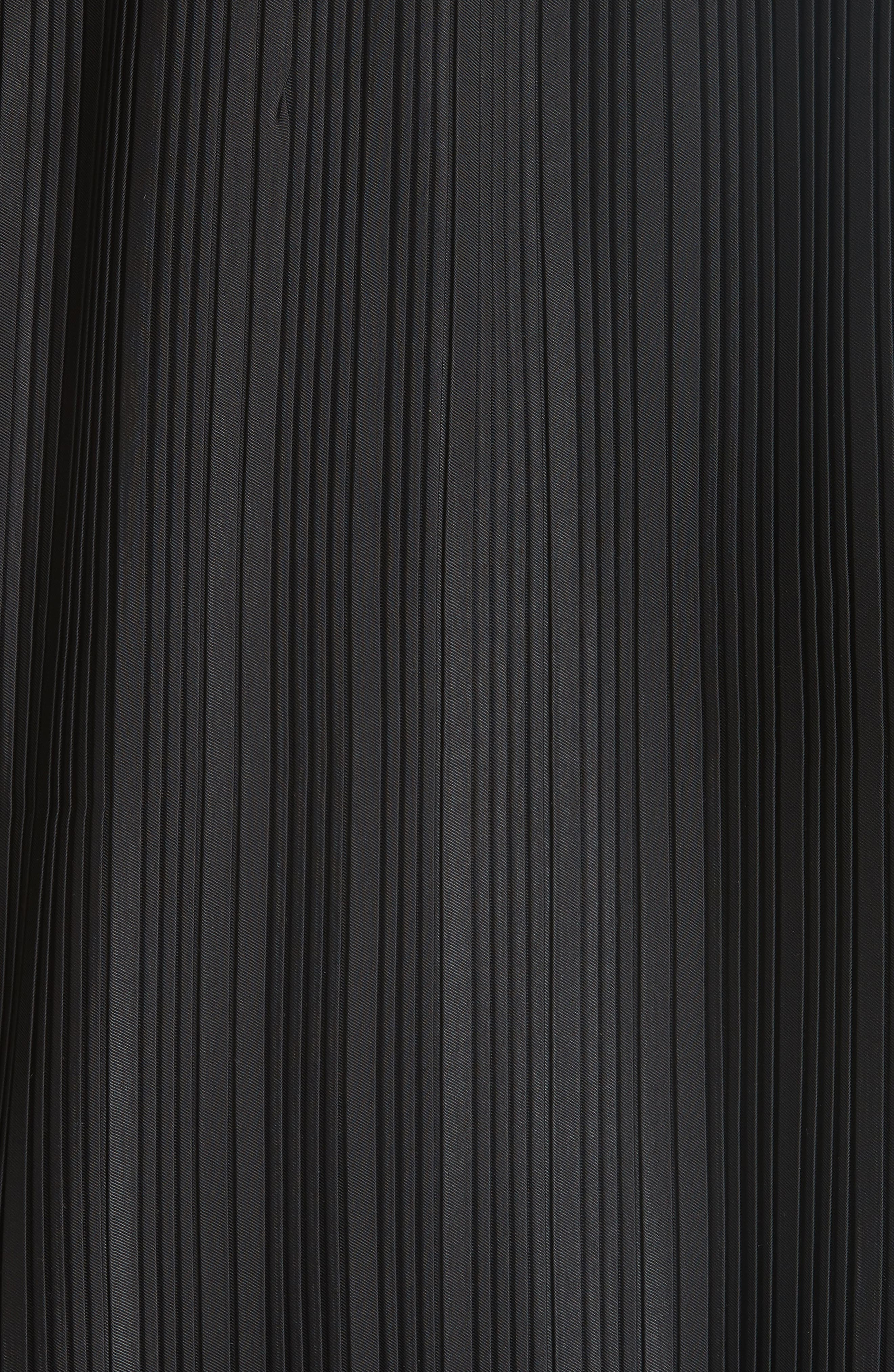 Pleat Back Cardigan,                             Alternate thumbnail 6, color,                             001