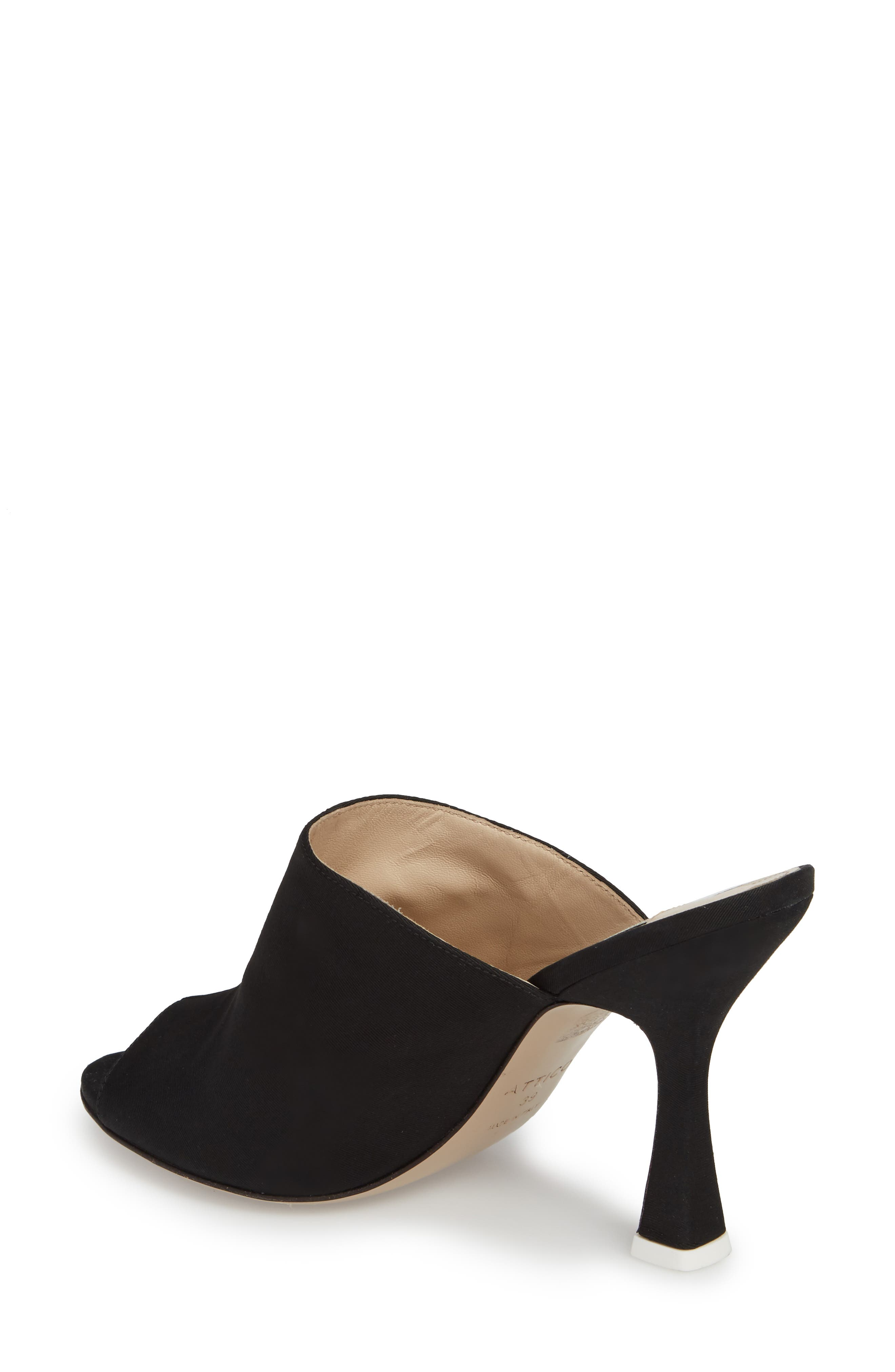 Pamela Open Toe Mule,                             Alternate thumbnail 2, color,                             001