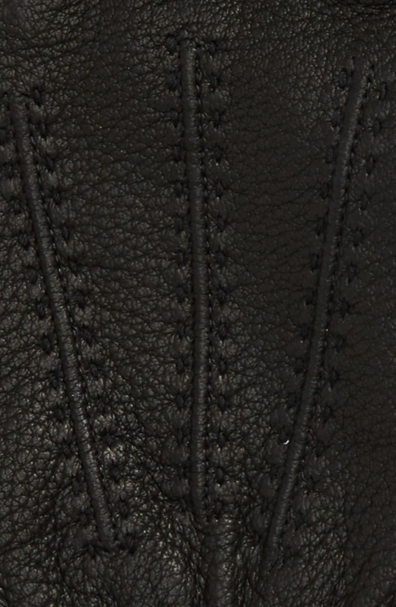 Deerskin Leather Gloves,                             Alternate thumbnail 2, color,                             001