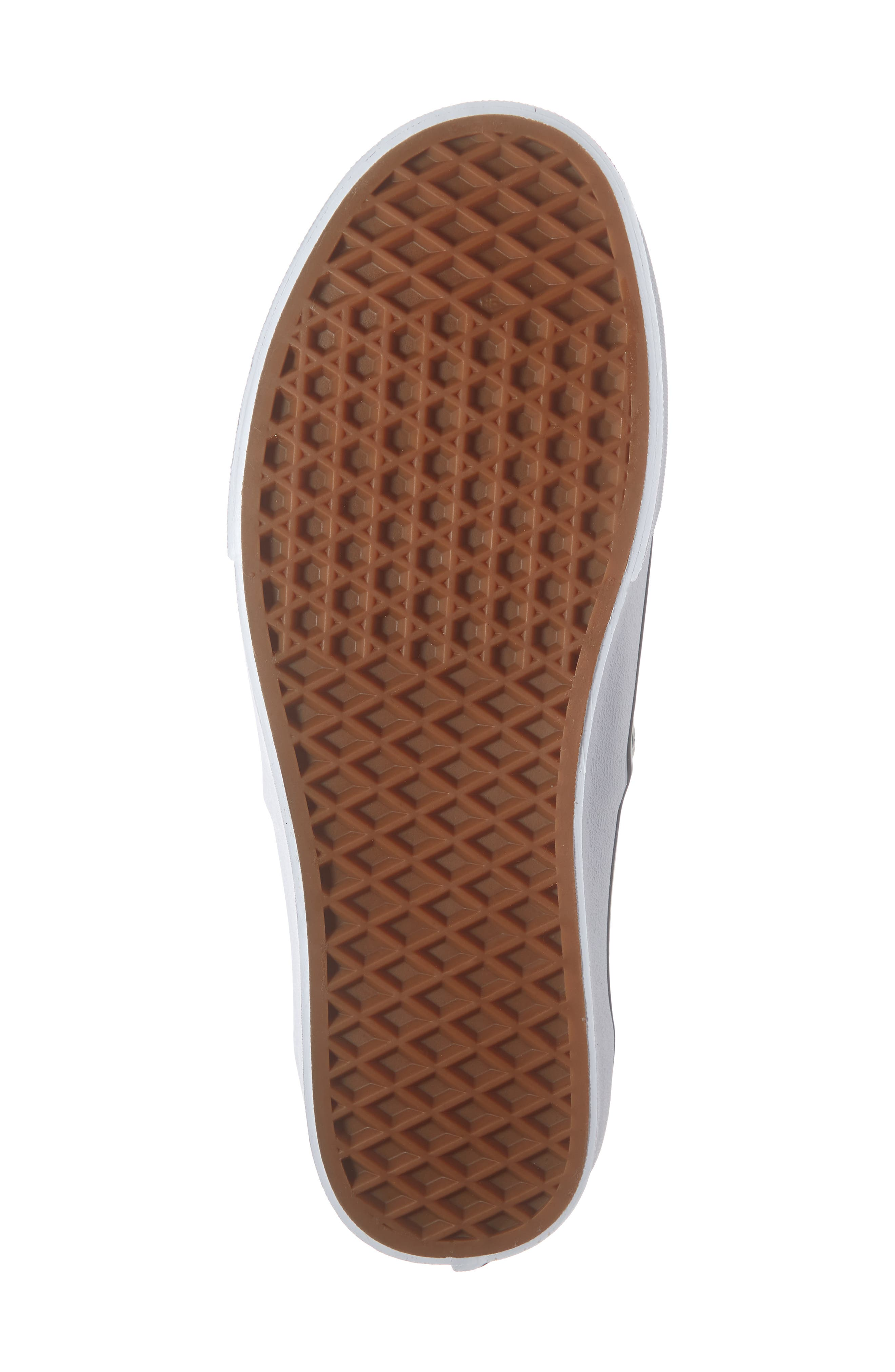 VANS,                             UA Authentic Sneaker,                             Alternate thumbnail 6, color,                             BLACK/ CLASSIC WHITE CHECK
