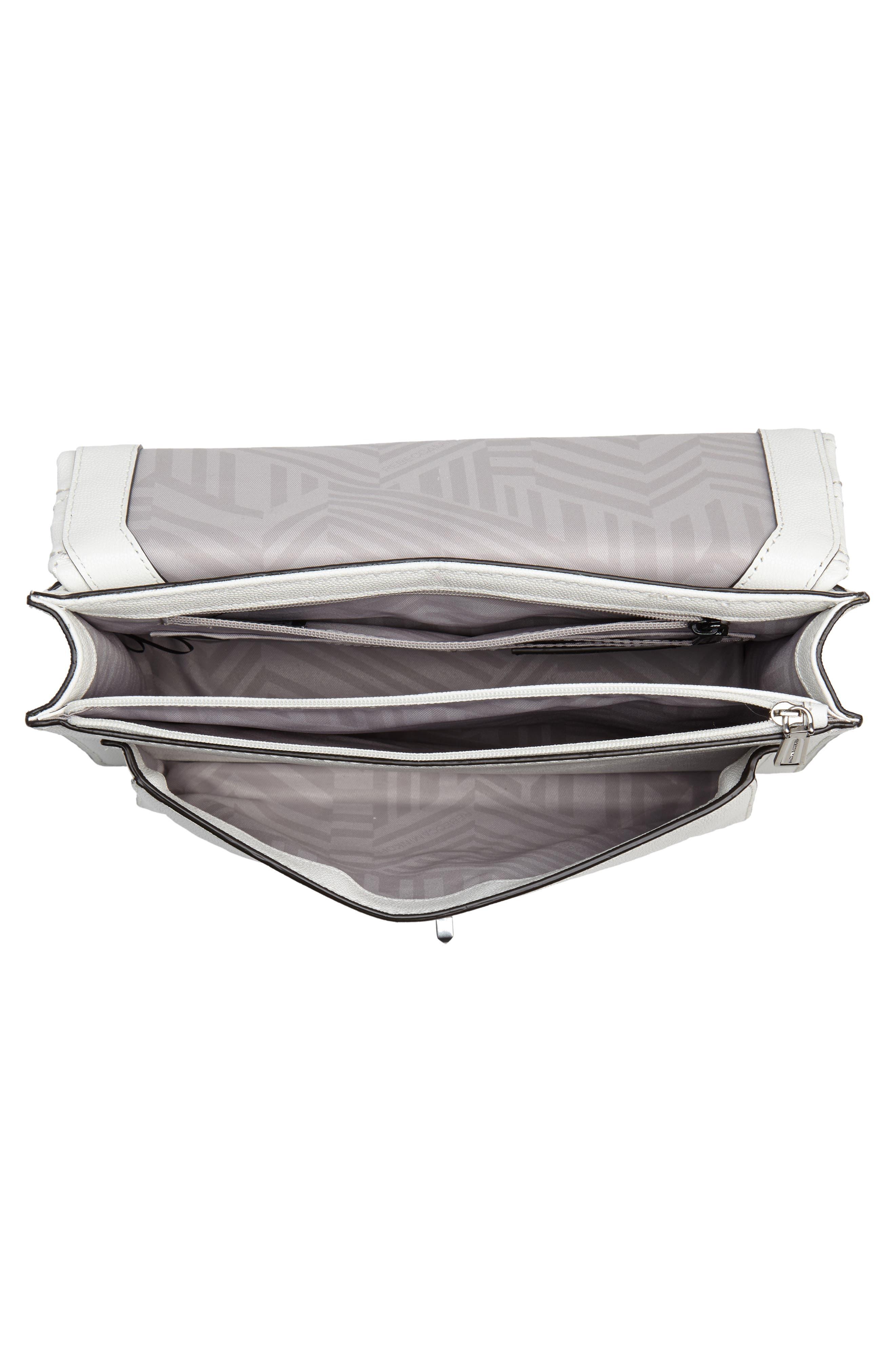 Medium Je T'aime Convertible Leather Crossbody Bag,                             Alternate thumbnail 33, color,