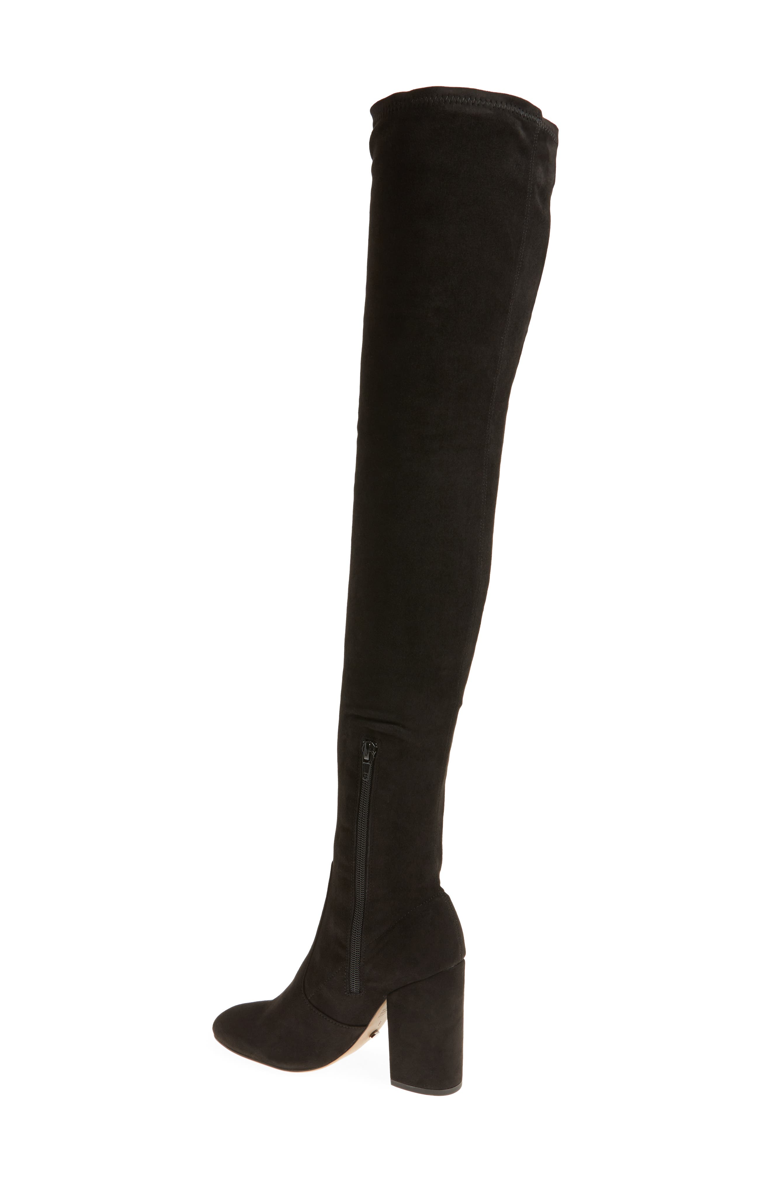 Athens Over the Knee Boot,                             Alternate thumbnail 2, color,                             001