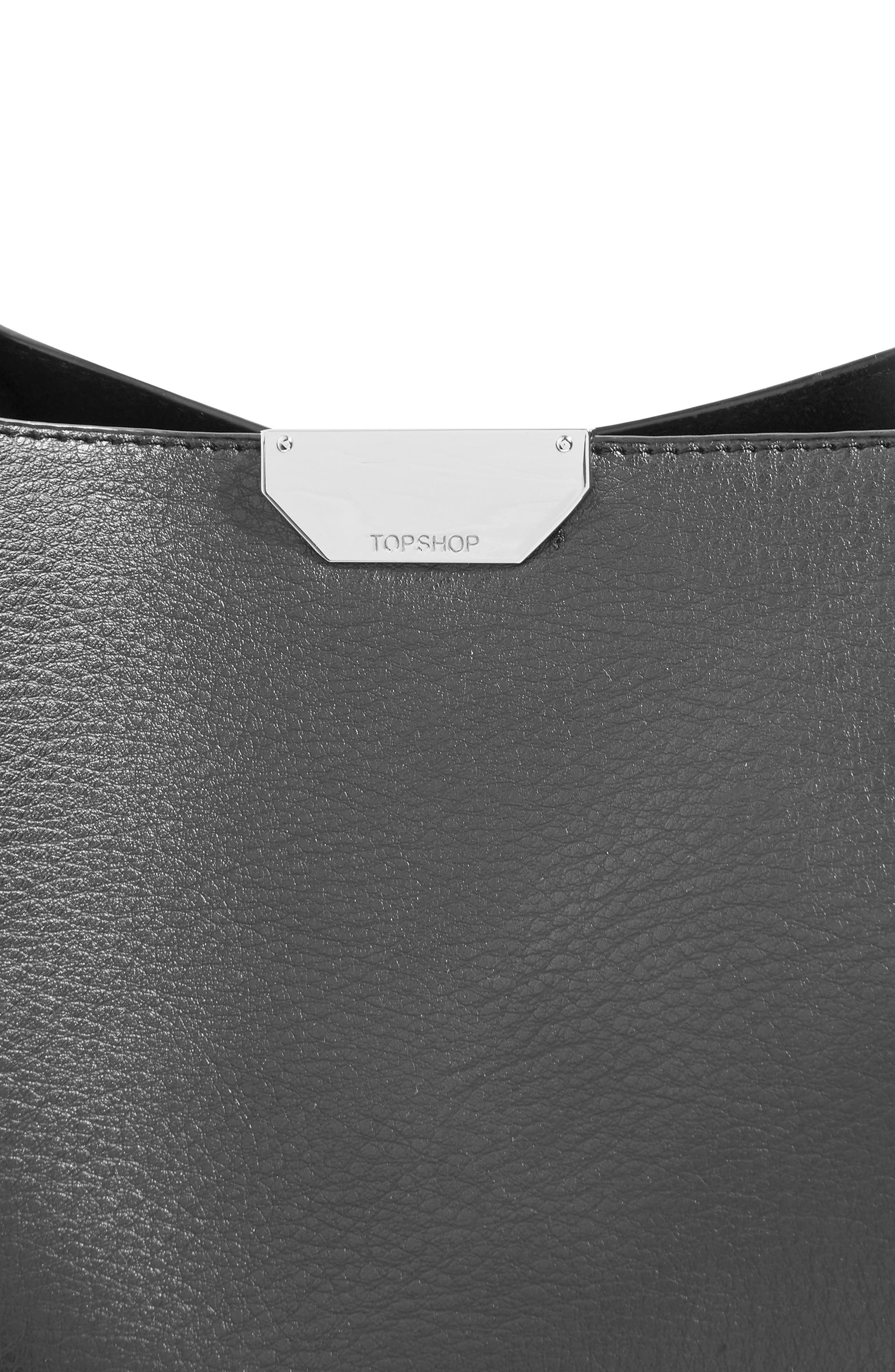 Sade Chain Shopper Bag,                             Alternate thumbnail 3, color,                             001
