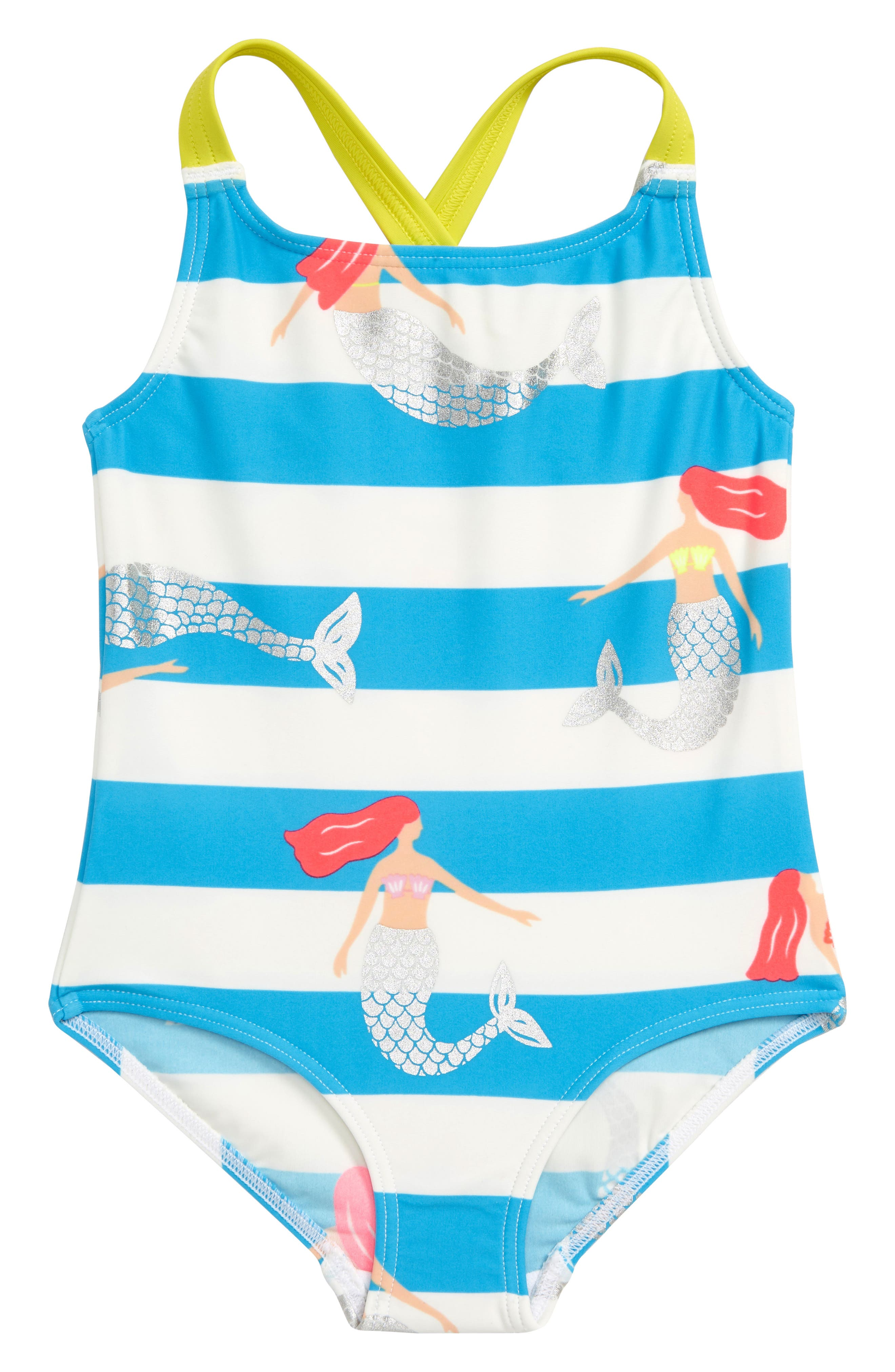 66a8062211 Girl s Mini Boden Print One-Piece Swimsuit