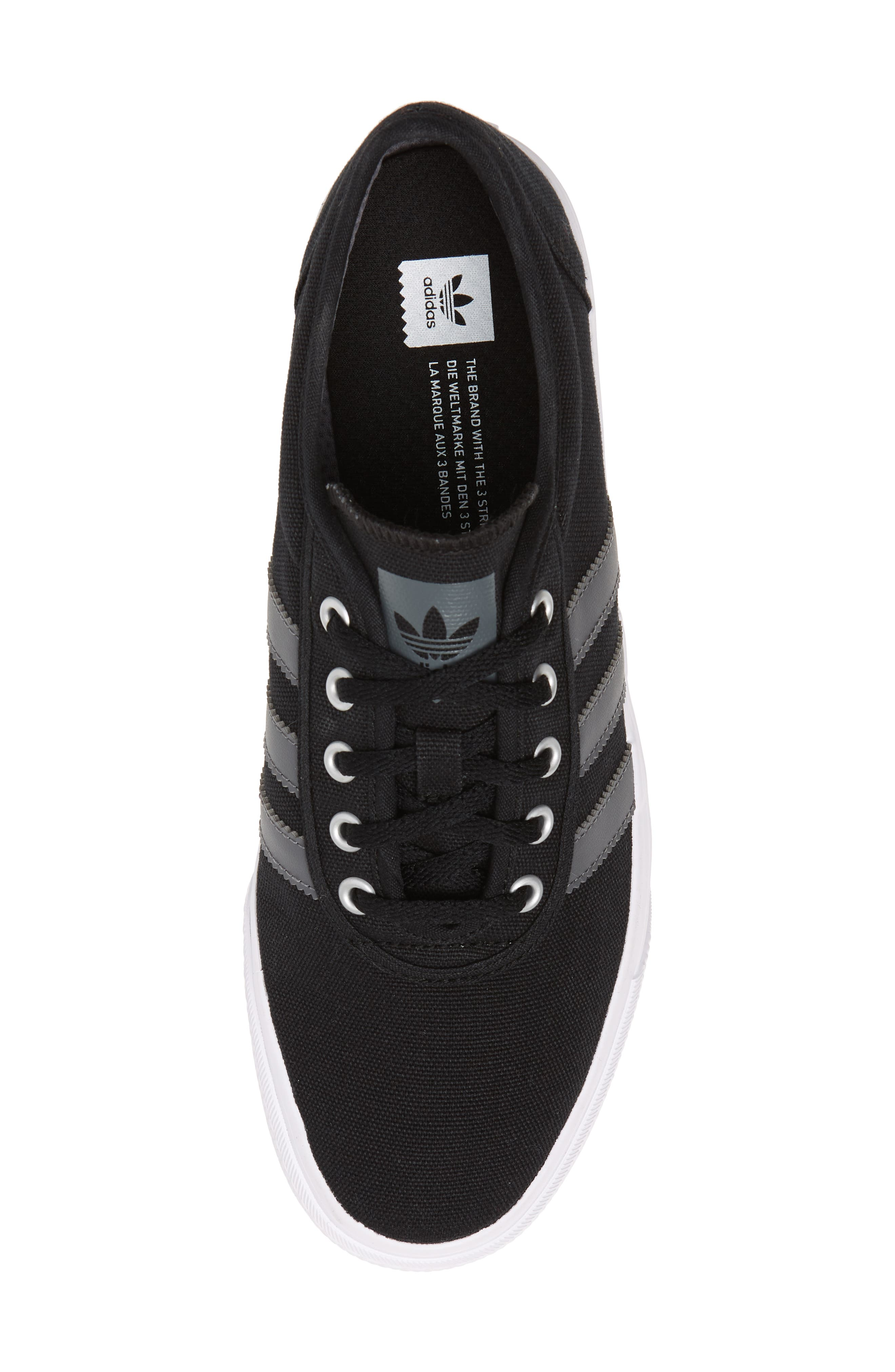 Adiease Skate Sneaker,                             Alternate thumbnail 5, color,                             001