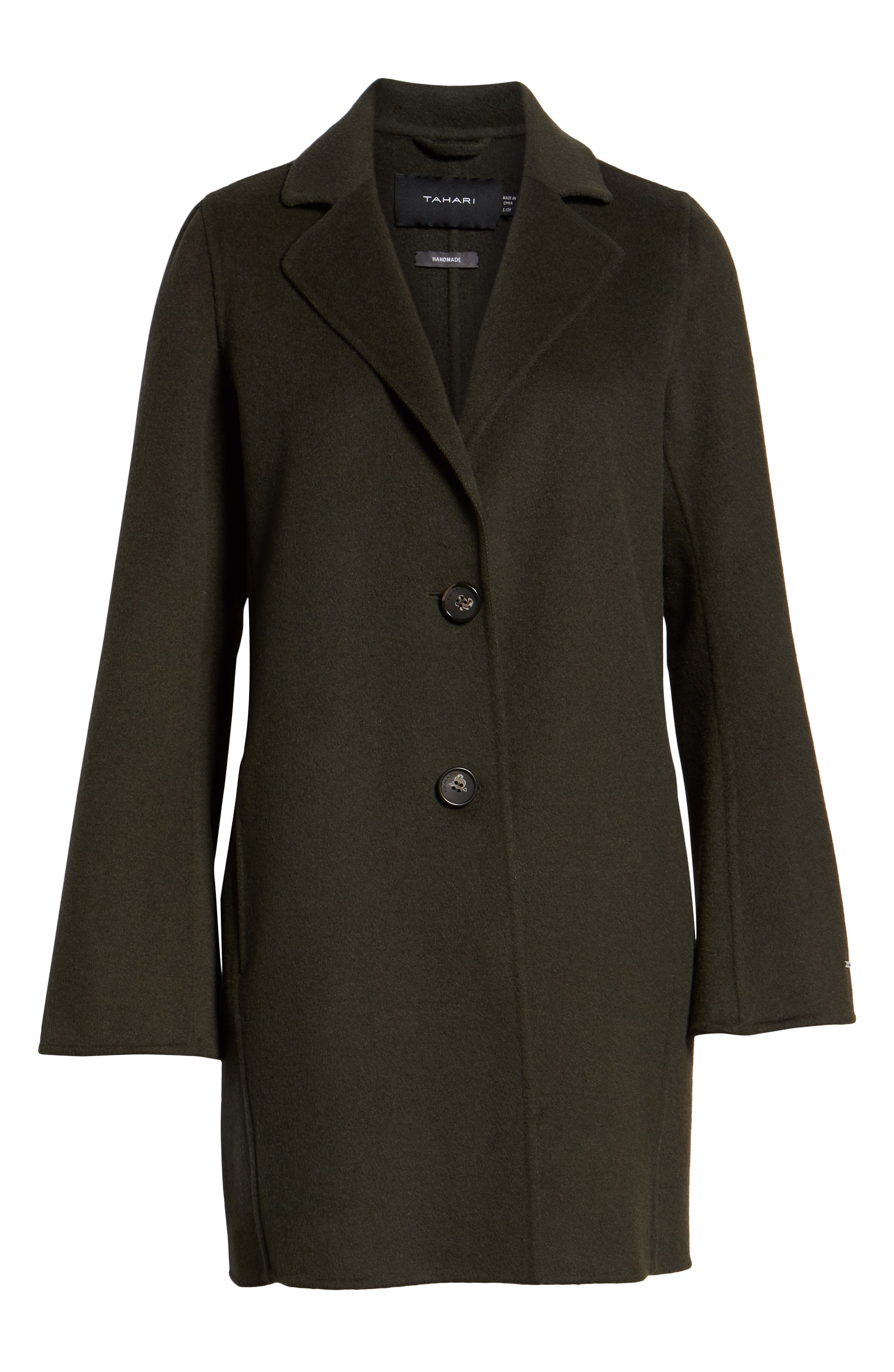 Jayden Bell Sleeve Jacket,                             Alternate thumbnail 6, color,                             CHIVE