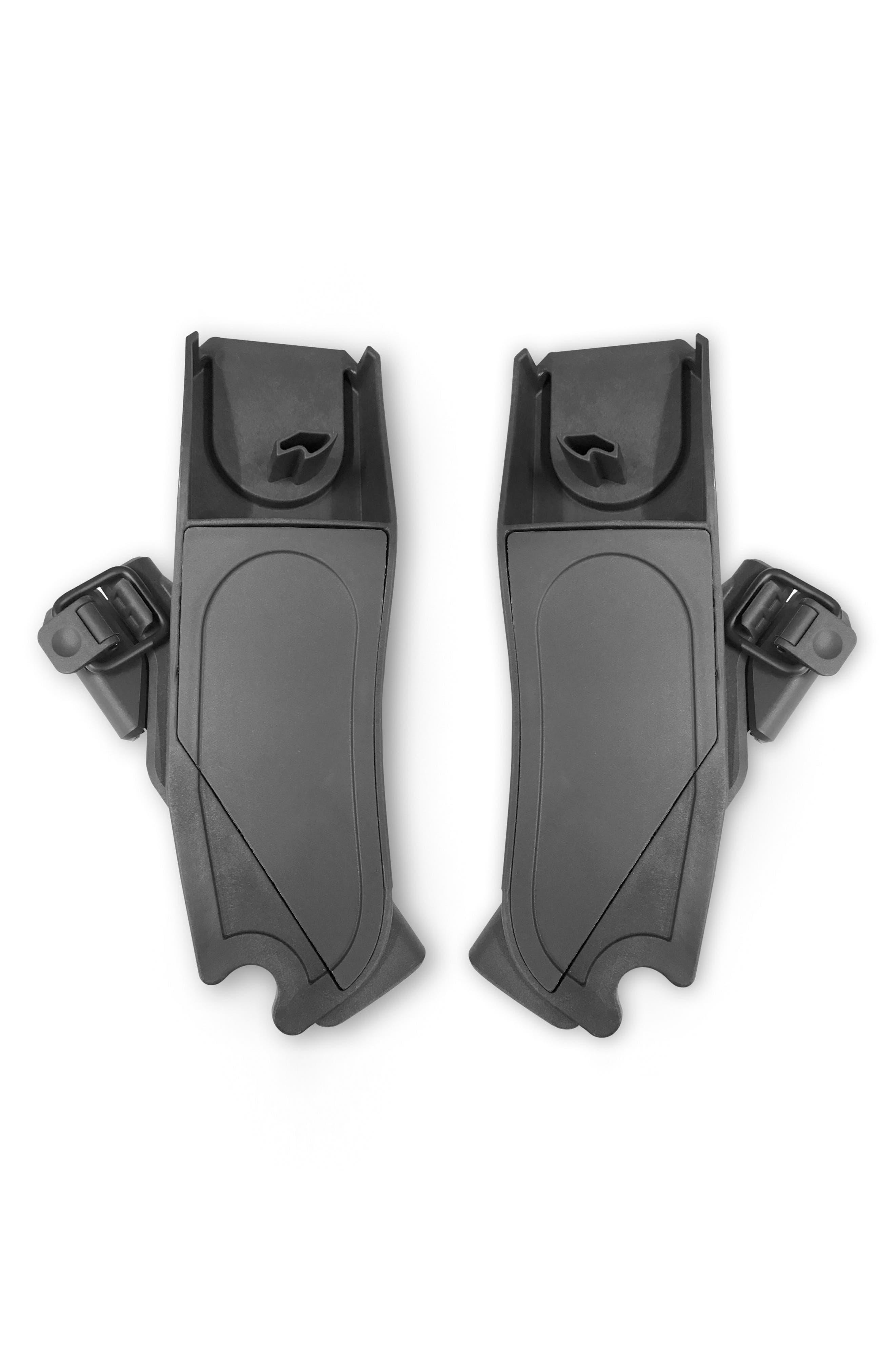 Lower Maxi-Cosi<sup>®</sup>/Nuna Car Seat Adapter,                             Main thumbnail 1, color,                             BLACK