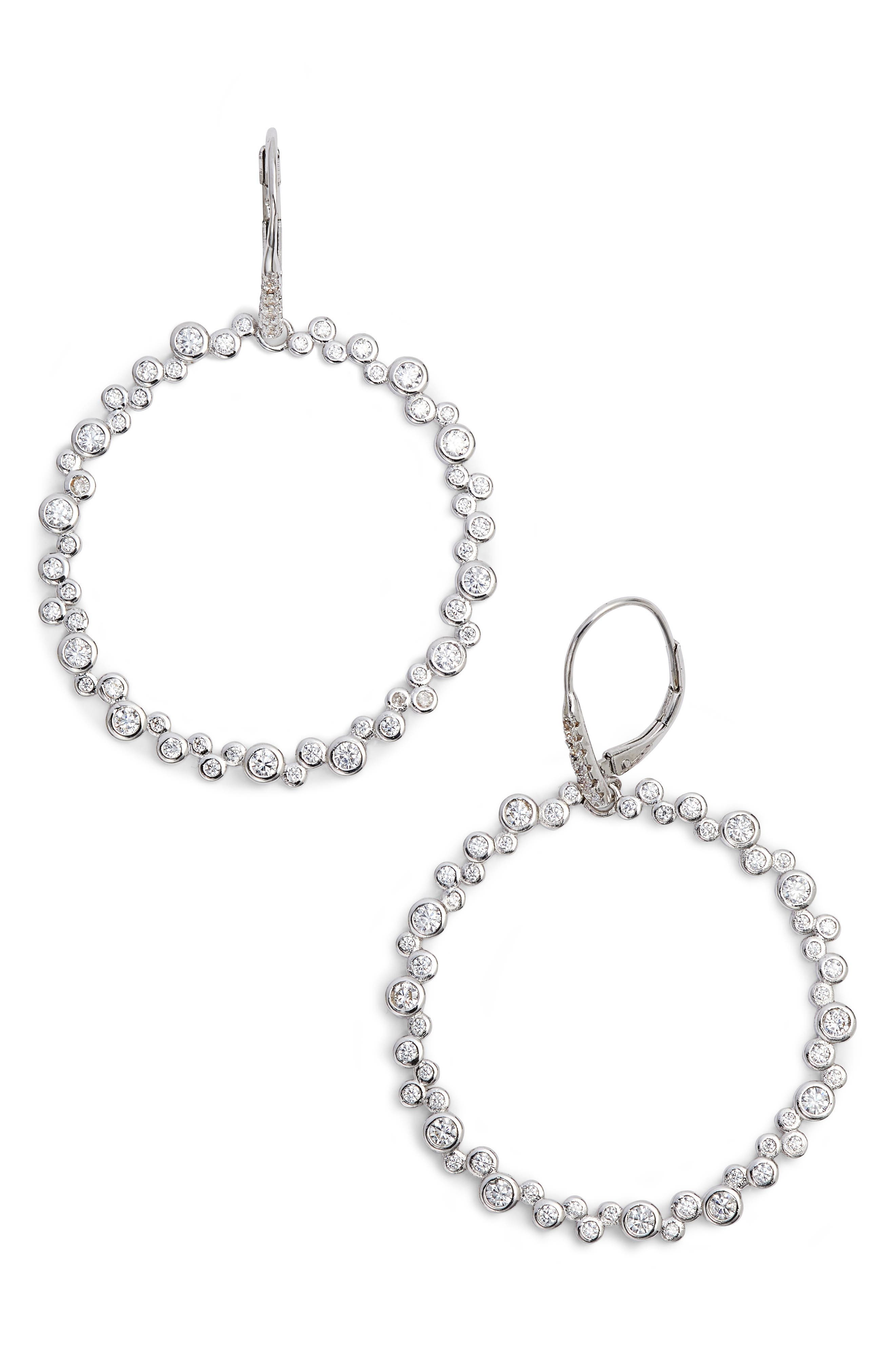 Sasha Hoop Earrings,                         Main,                         color, 041