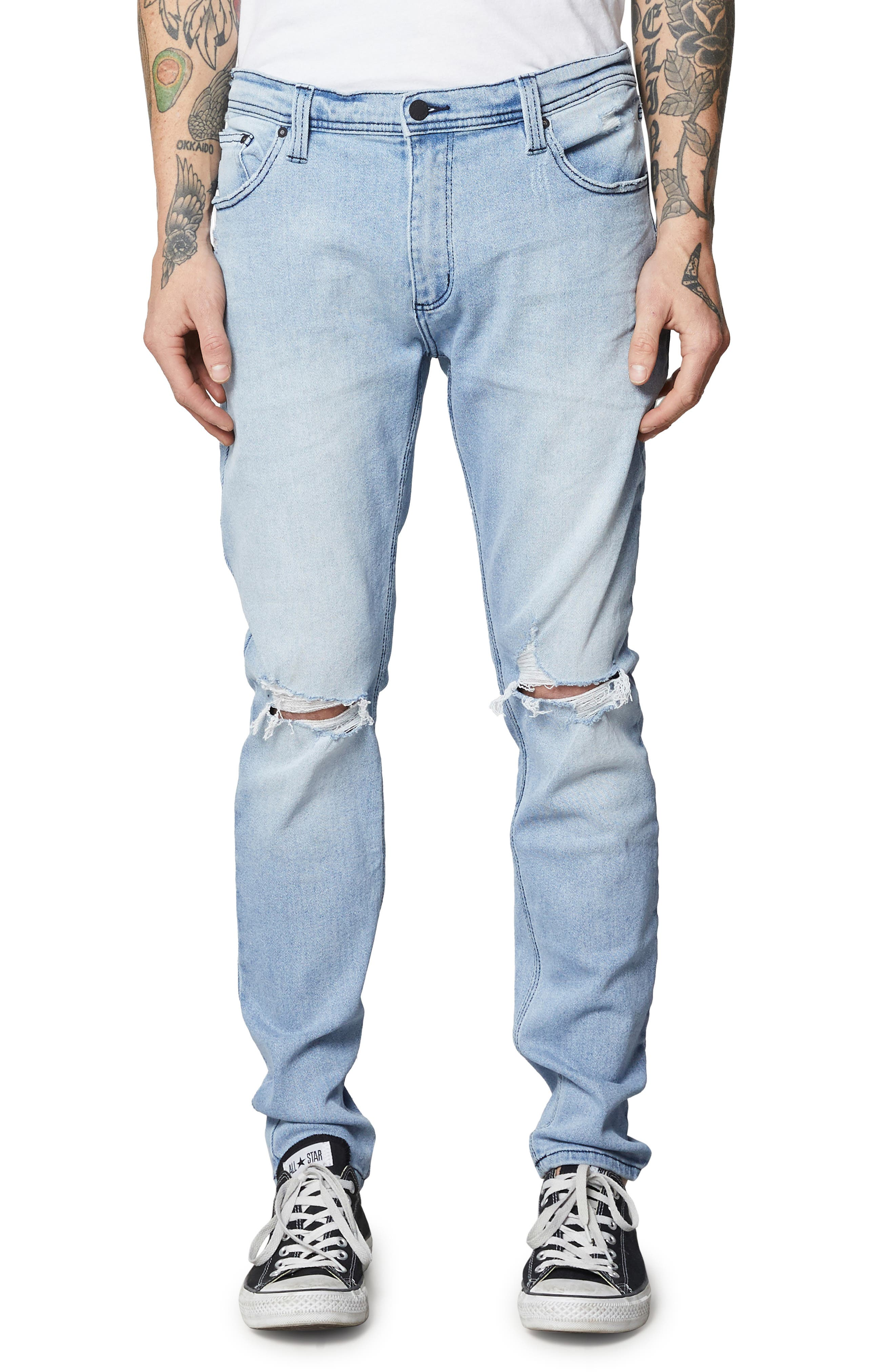 ROLLA'S,                             Stinger Skinny Fit Jeans,                             Main thumbnail 1, color,                             403