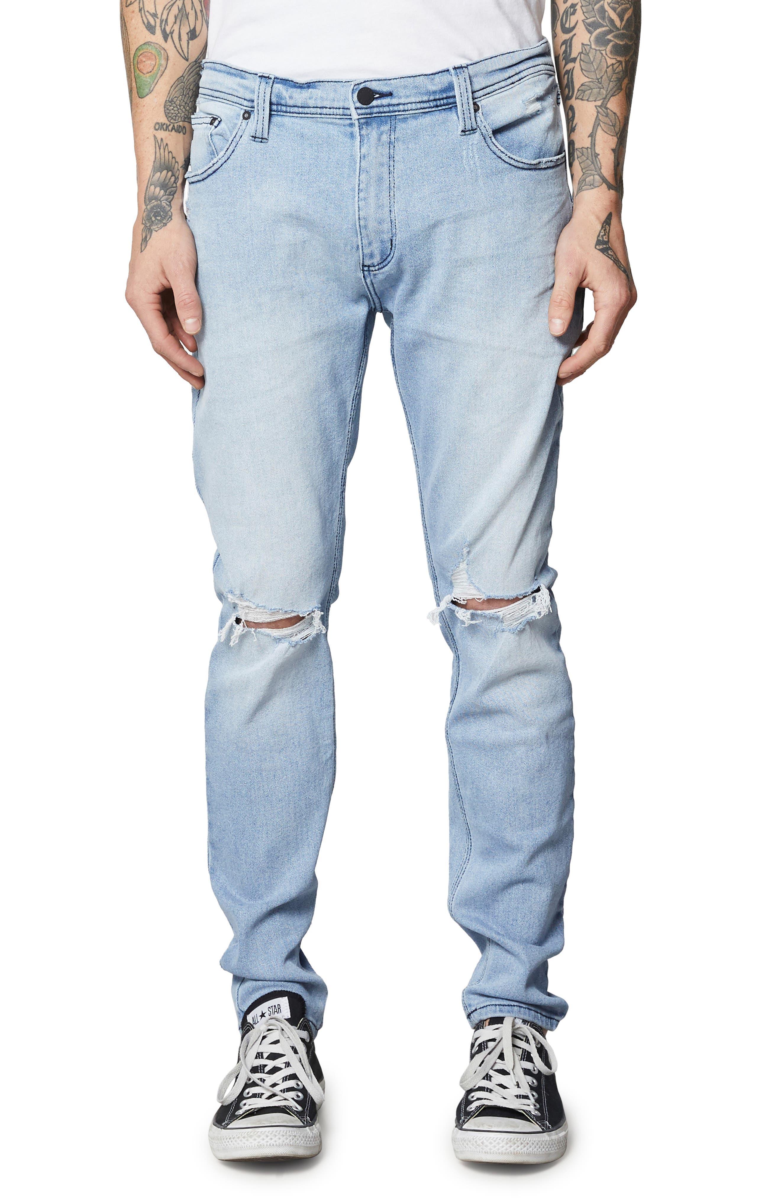 Stinger Skinny Fit Jeans,                         Main,                         color, SUNNY BOY BLUE