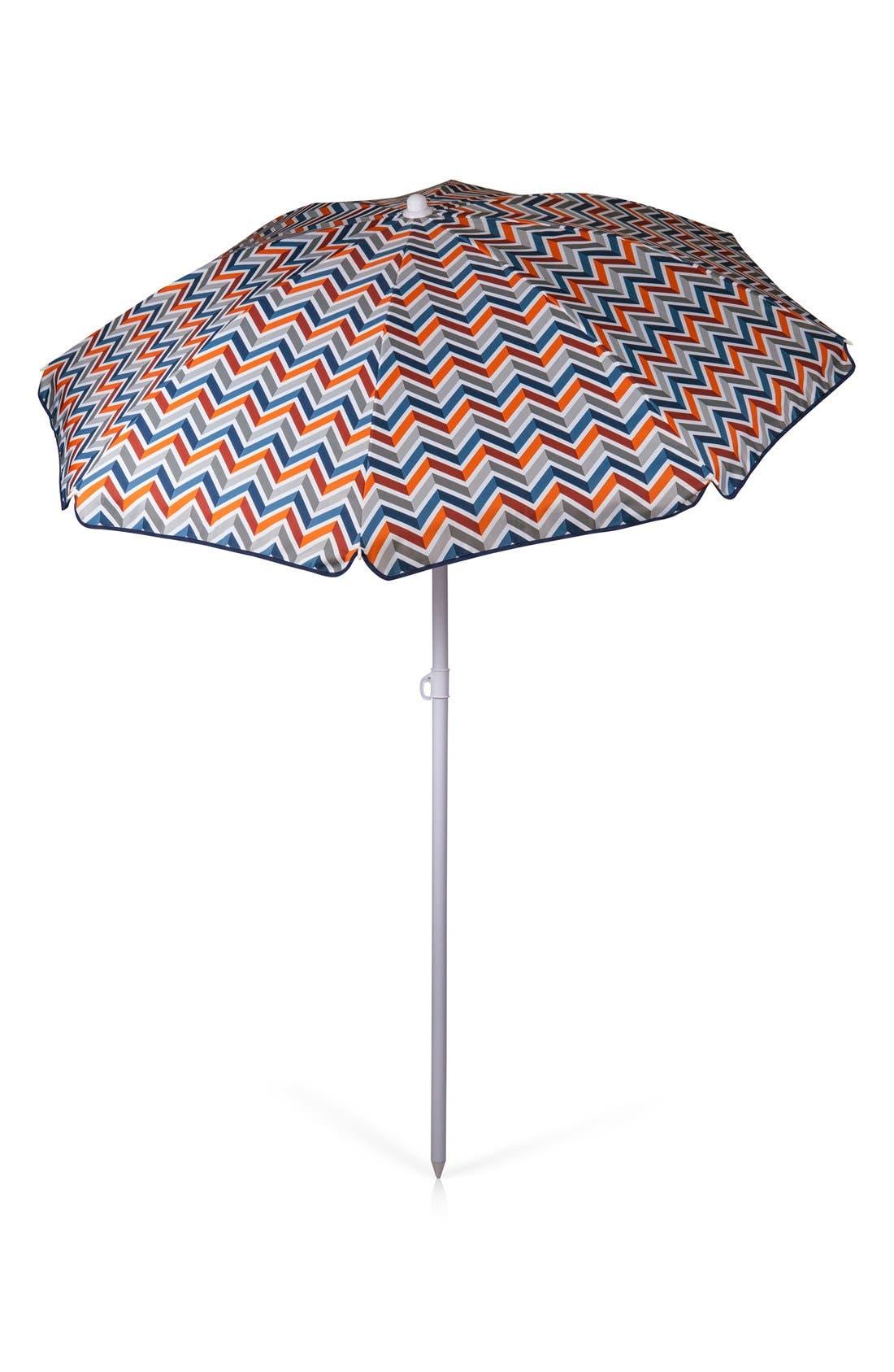 Beach & Picnic Umbrella,                             Alternate thumbnail 4, color,                             BLUE