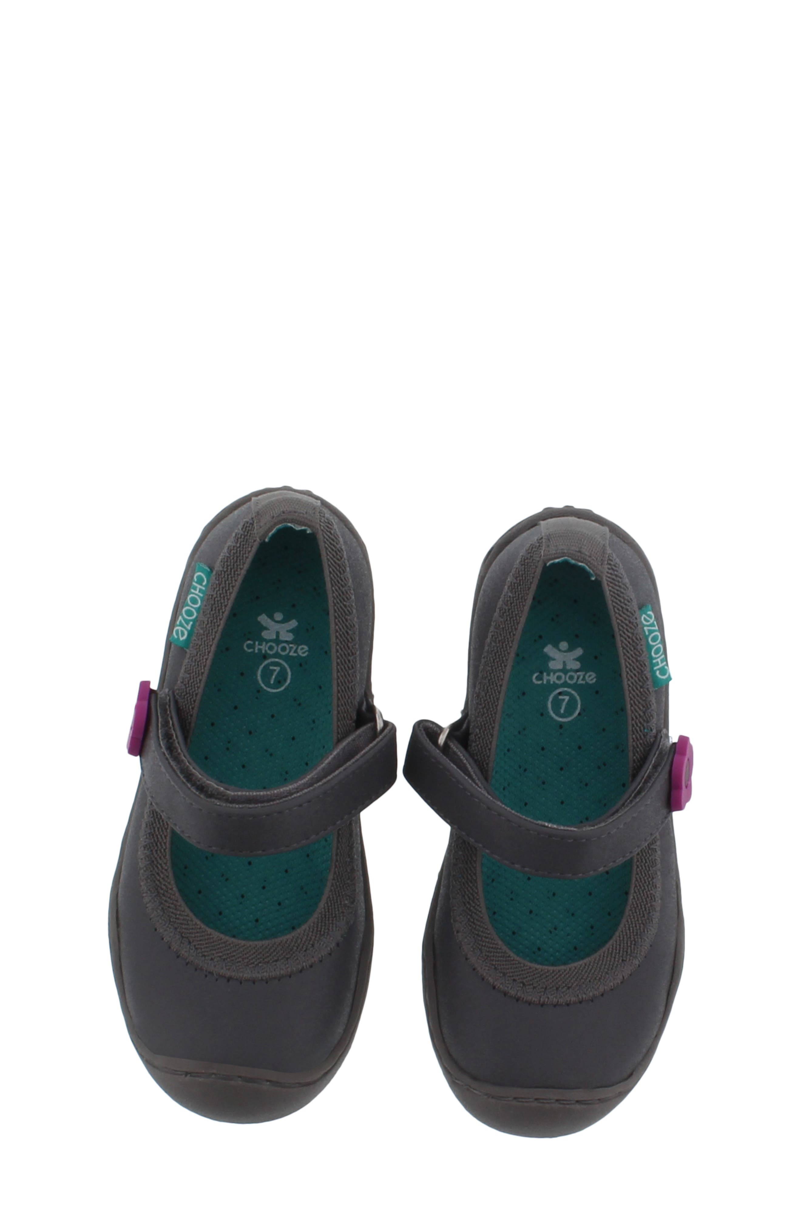 Steady Shimmer Mary Jane Sneaker,                             Alternate thumbnail 4, color,                             PEWTER