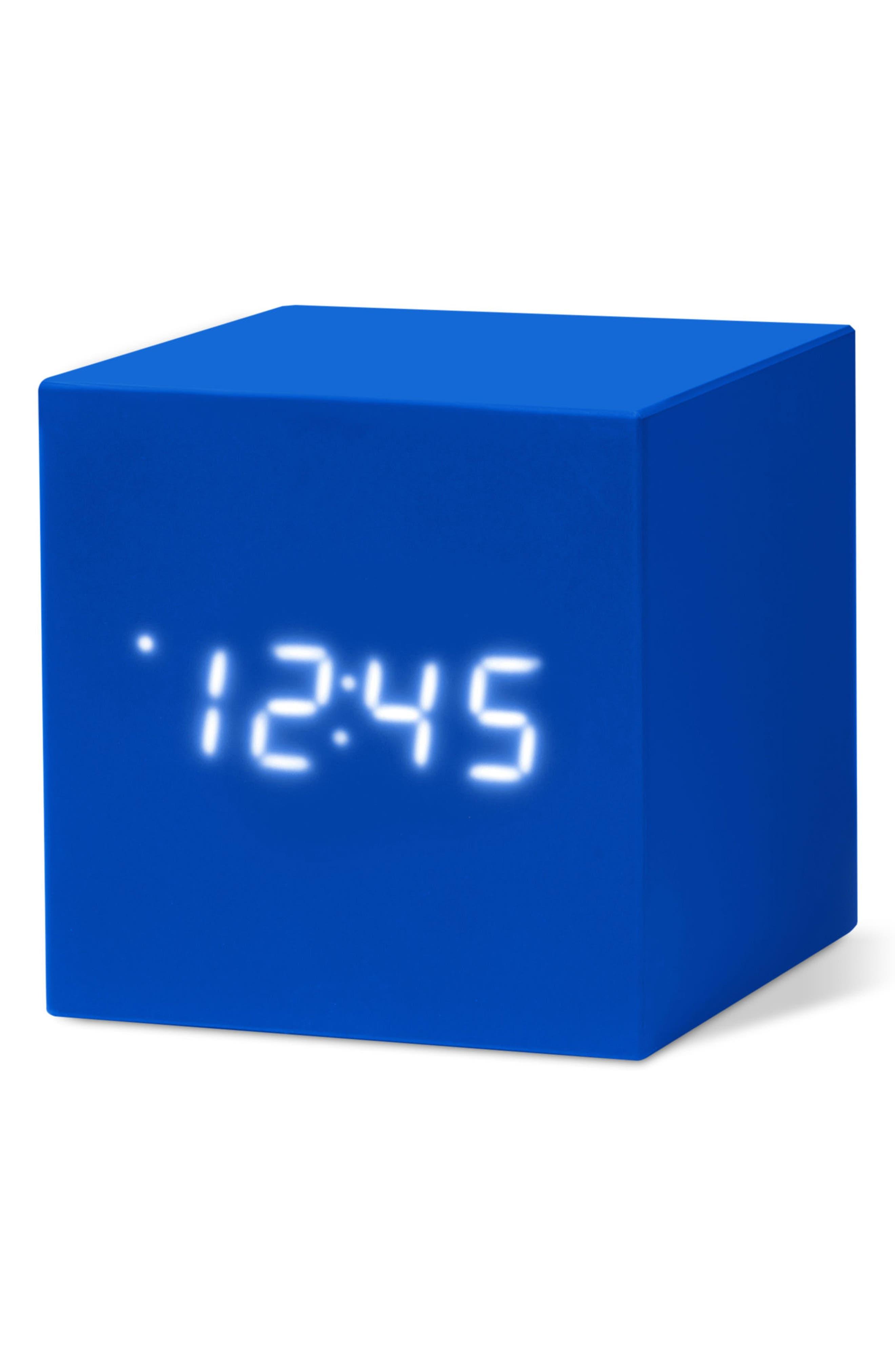 Color Cube Clock,                             Alternate thumbnail 7, color,                             001