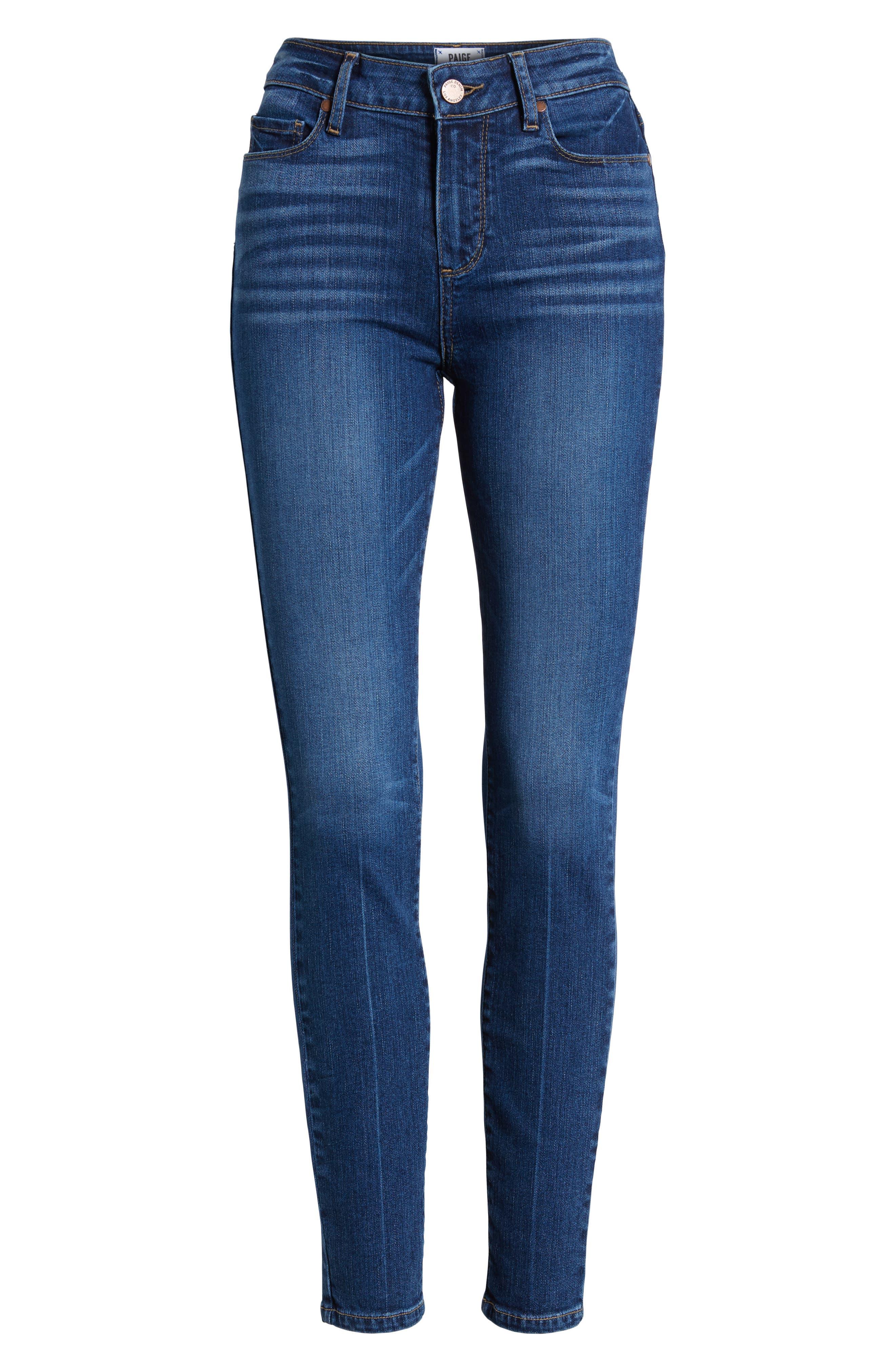 Verdugo Ankle Skinny Jeans,                             Alternate thumbnail 7, color,                             400