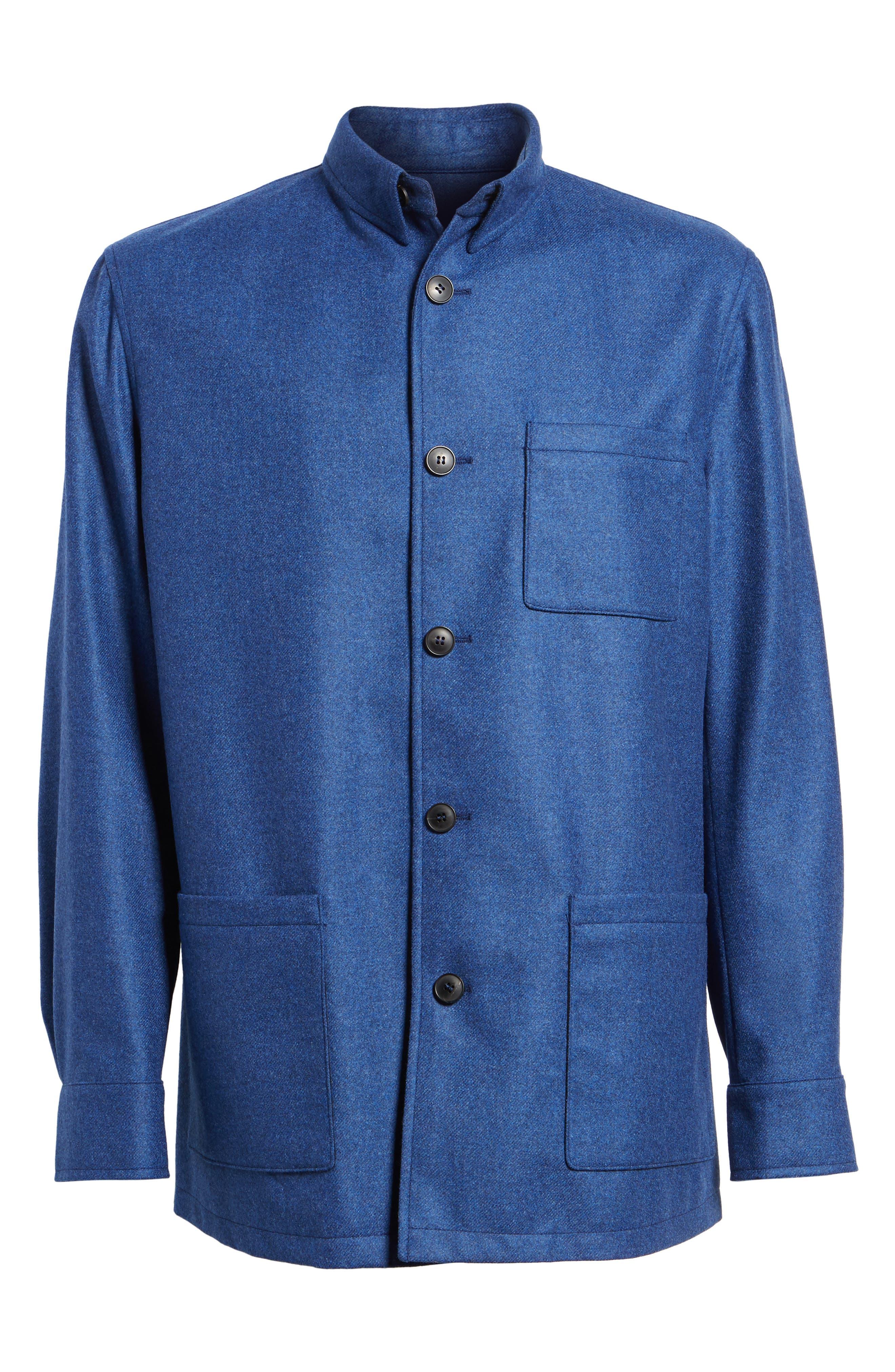 Loro Piana Storm System Shirt Jacket,                             Alternate thumbnail 24, color,