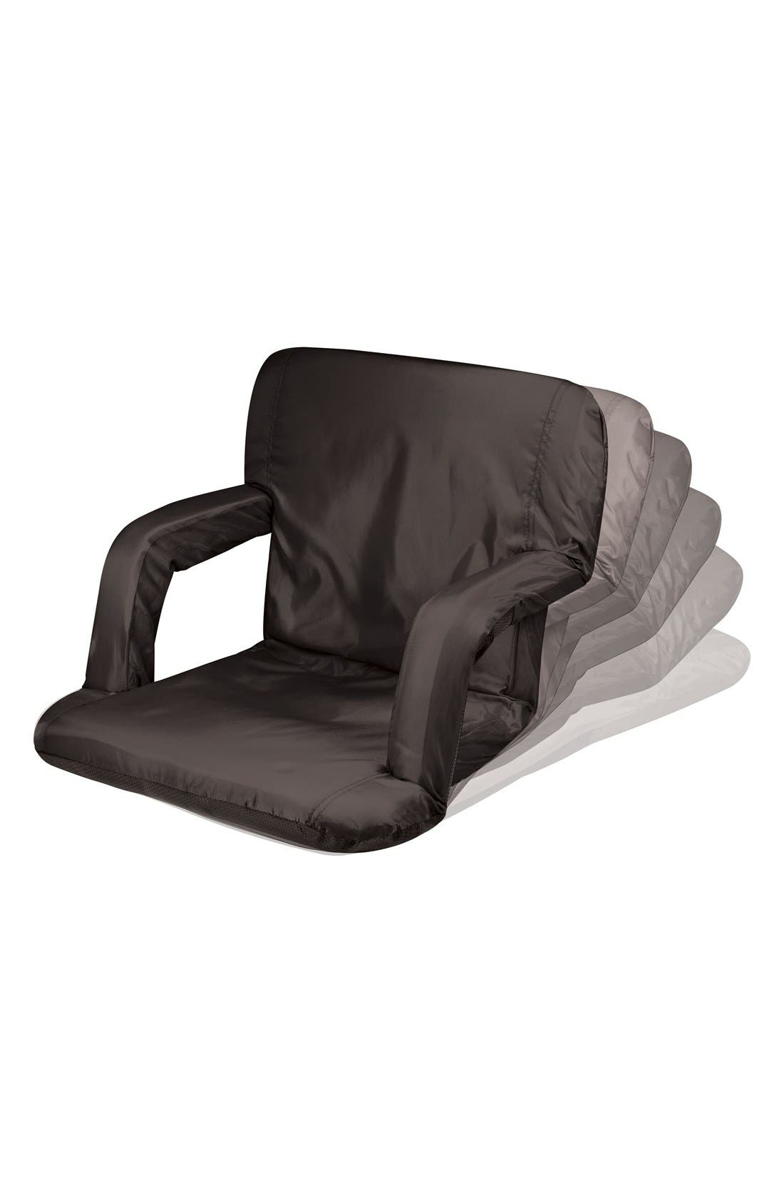 'VenturaSeat' Portable Fold-Up Chair,                             Alternate thumbnail 3, color,                             BLACK