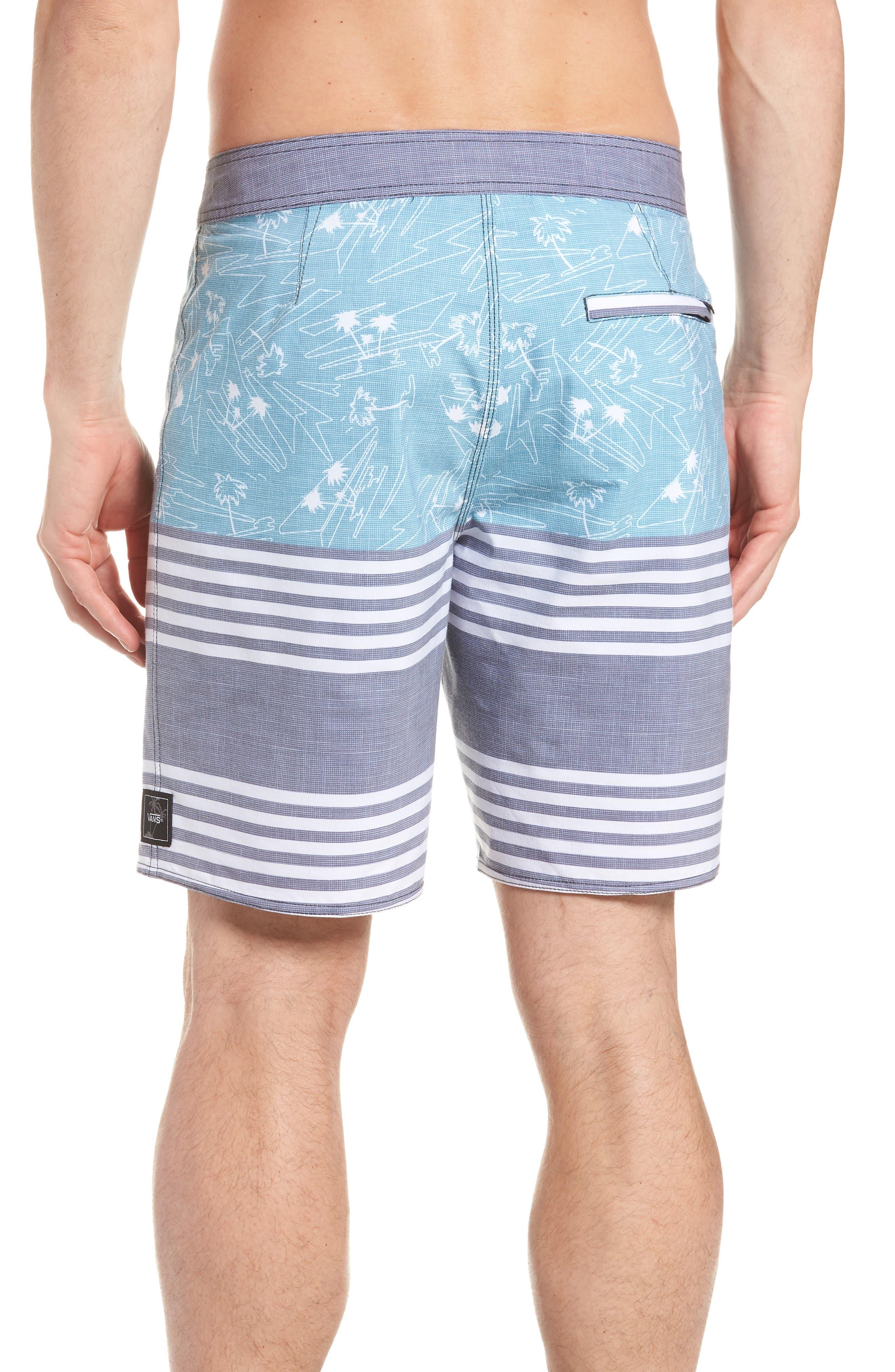 Era Board Shorts,                             Alternate thumbnail 2, color,                             DRESS BLUES ISLAND BEACH