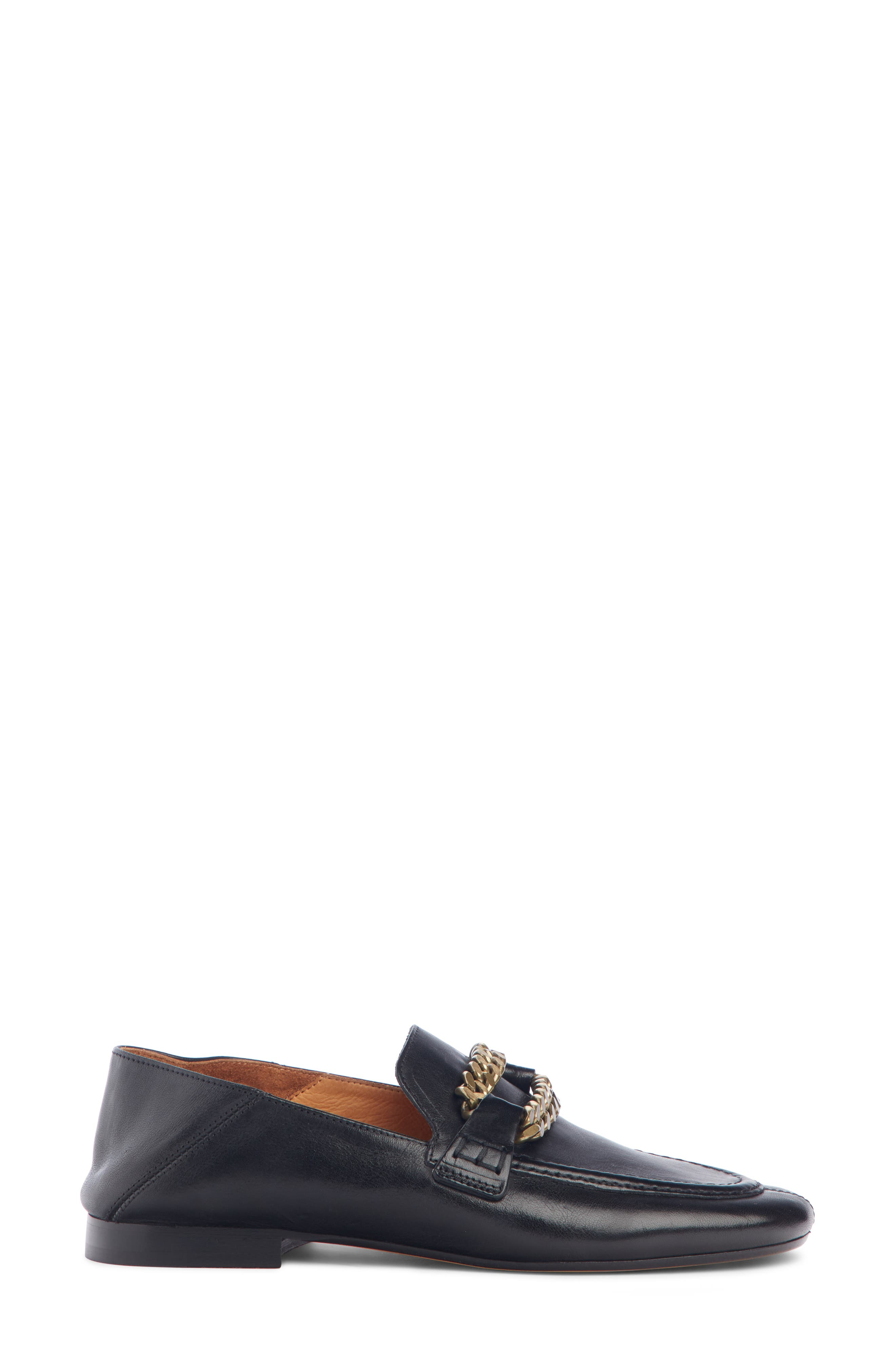 ISABEL MARANT,                             Firlee Chain Convertible Loafer,                             Alternate thumbnail 2, color,                             BLACK