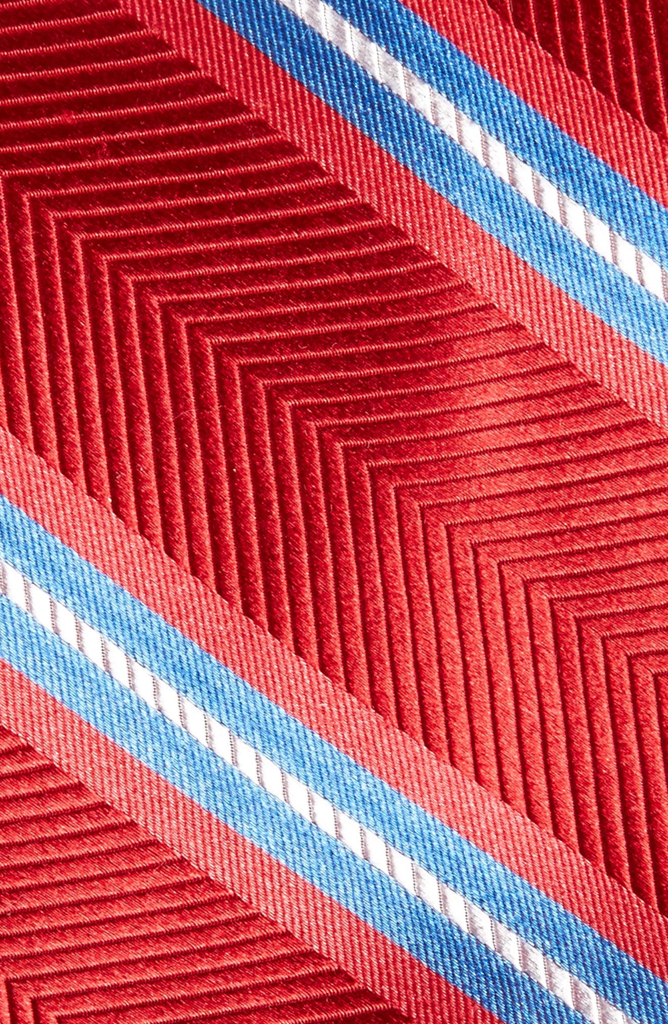 Stripe Silk Tie,                             Alternate thumbnail 2, color,                             600
