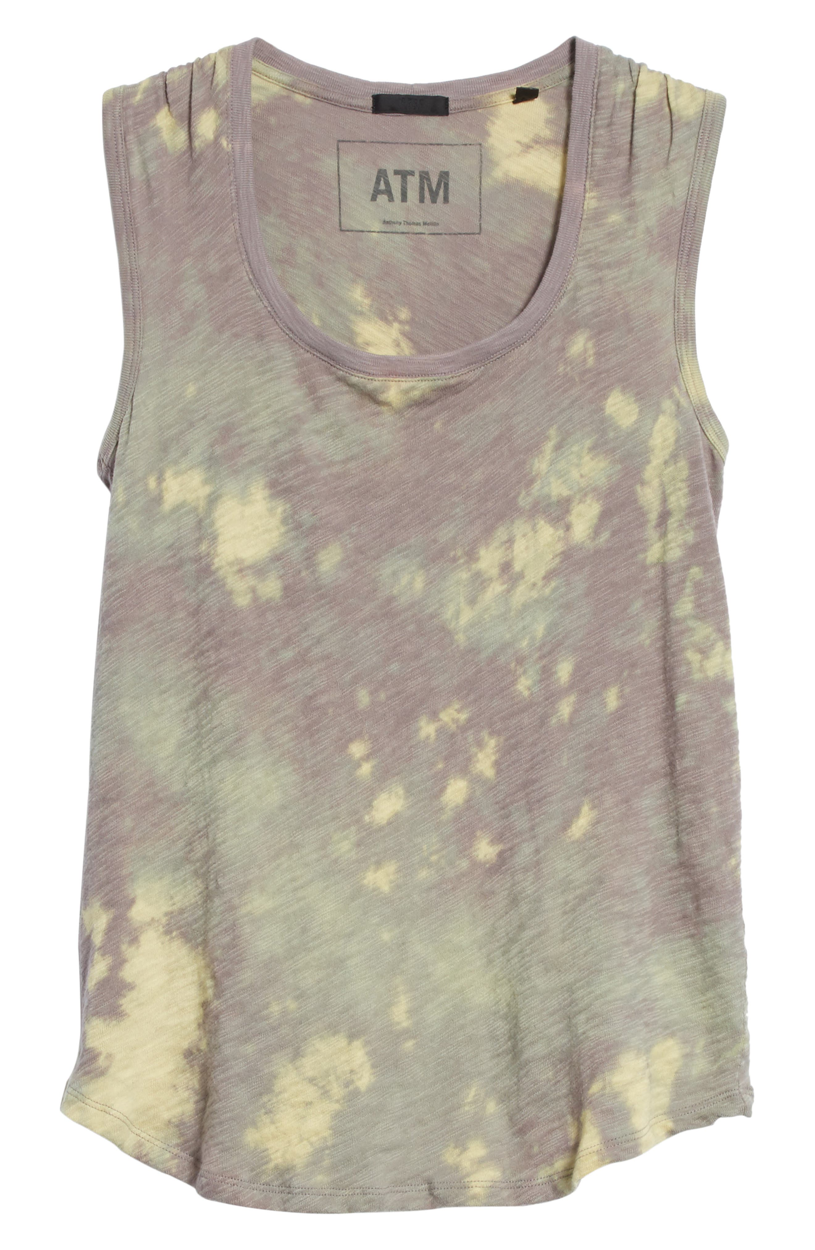 Sweetheart Tie Dye Tank,                             Alternate thumbnail 6, color,