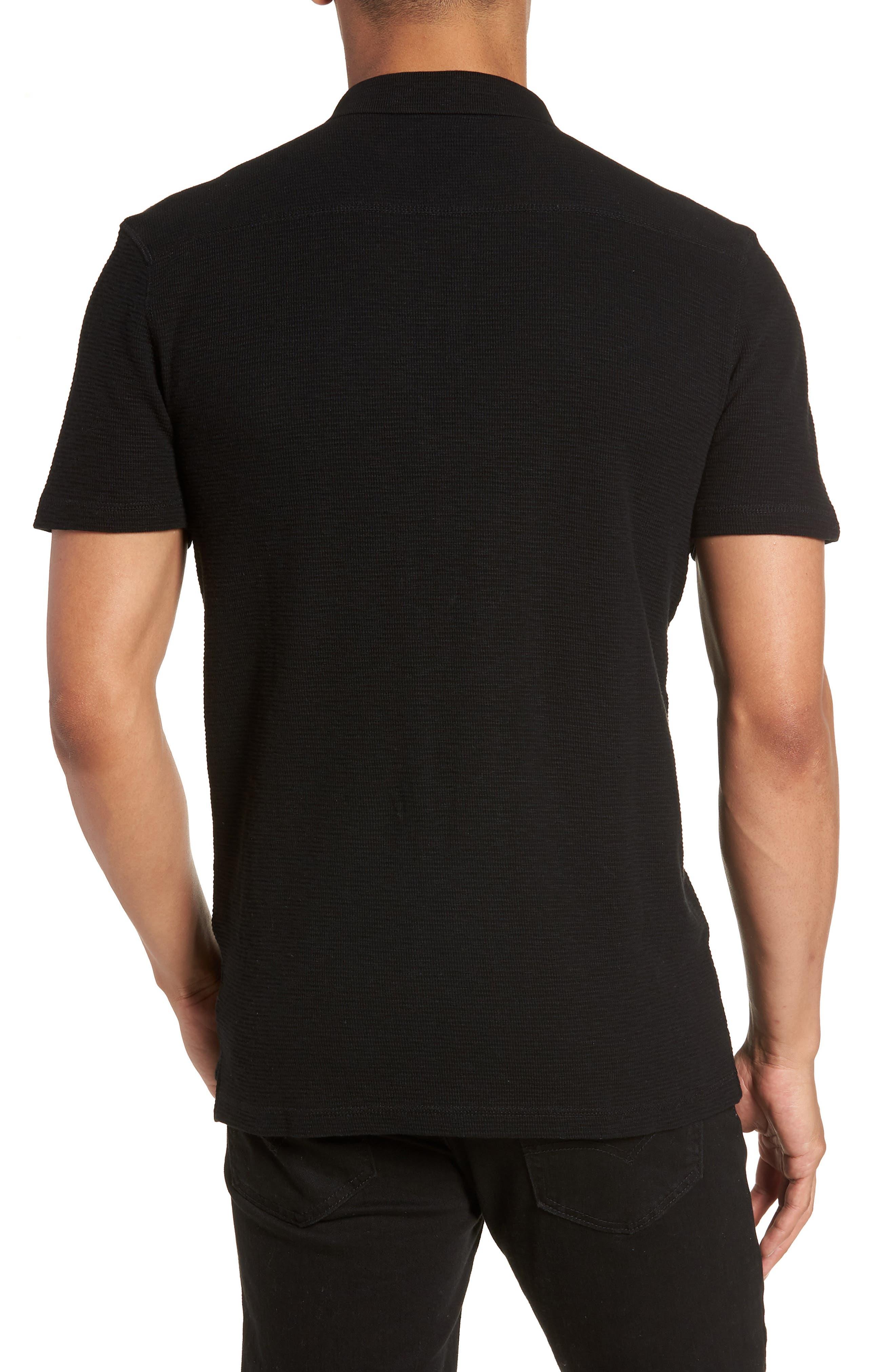 Clash Regular Fit Cotton Polo Shirt,                             Alternate thumbnail 2, color,                             003