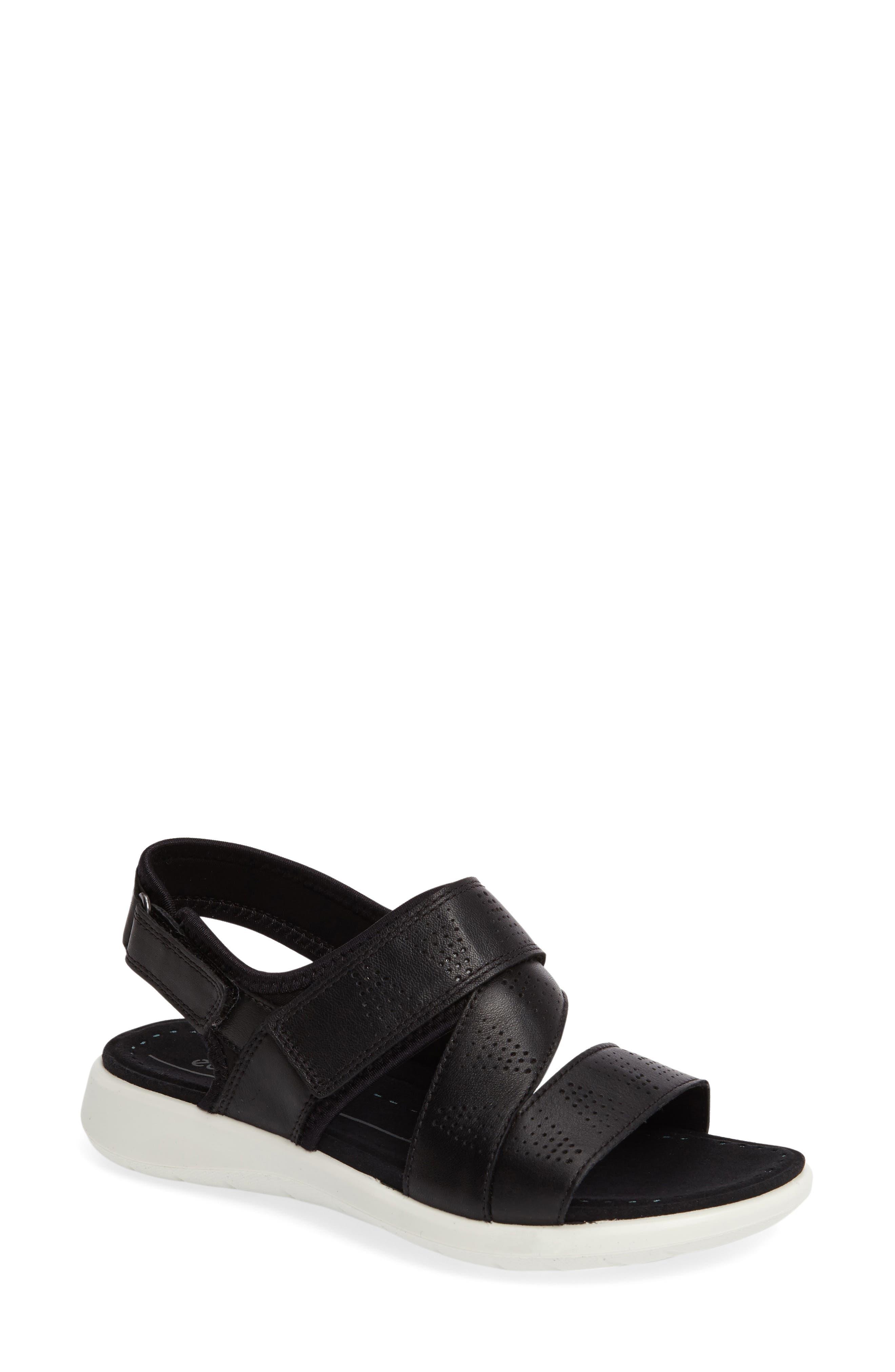 Soft 5 Sandal,                         Main,                         color, 001