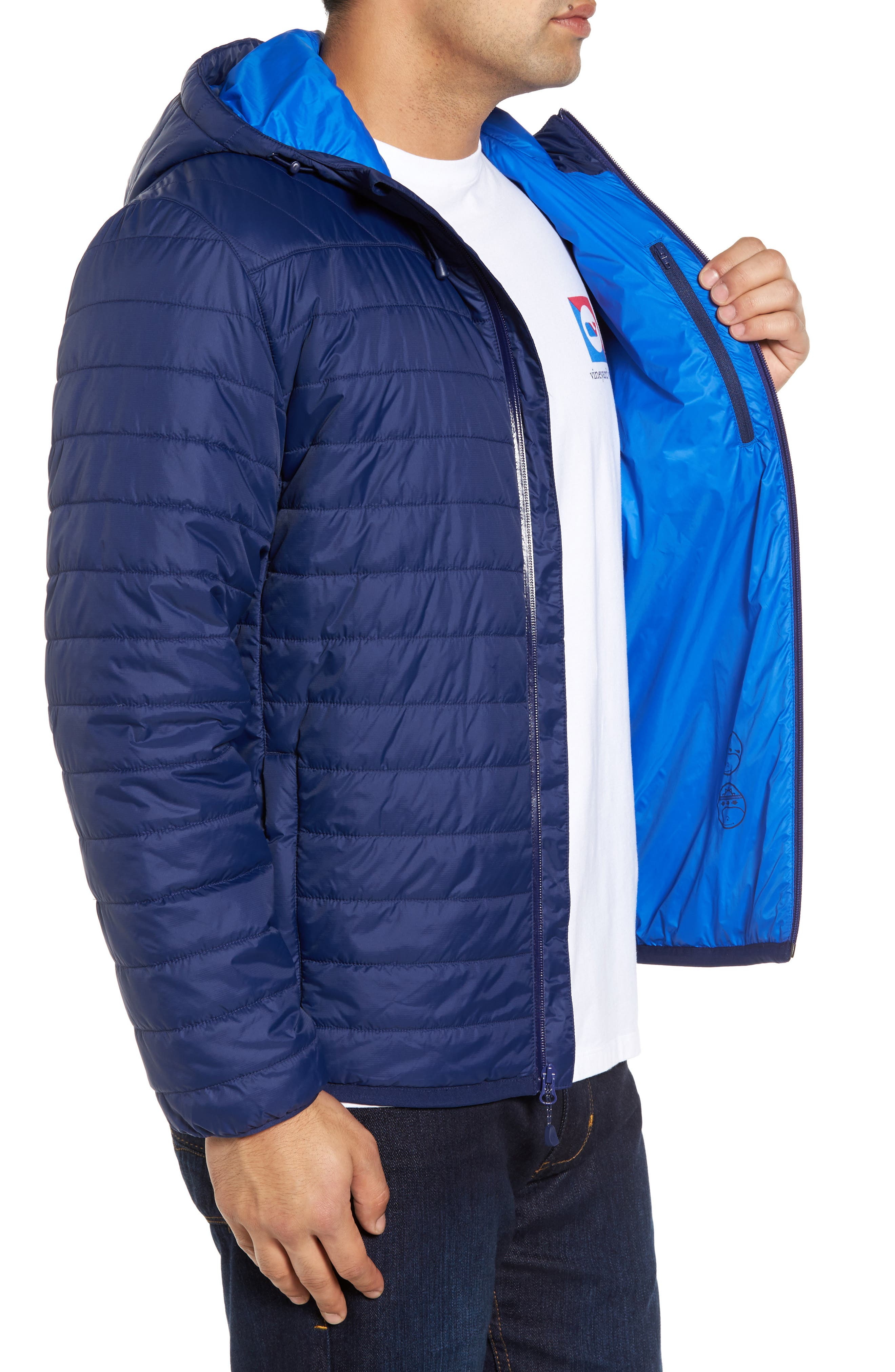 Updated Mountain Weekend Quilted Jacket,                             Alternate thumbnail 3, color,