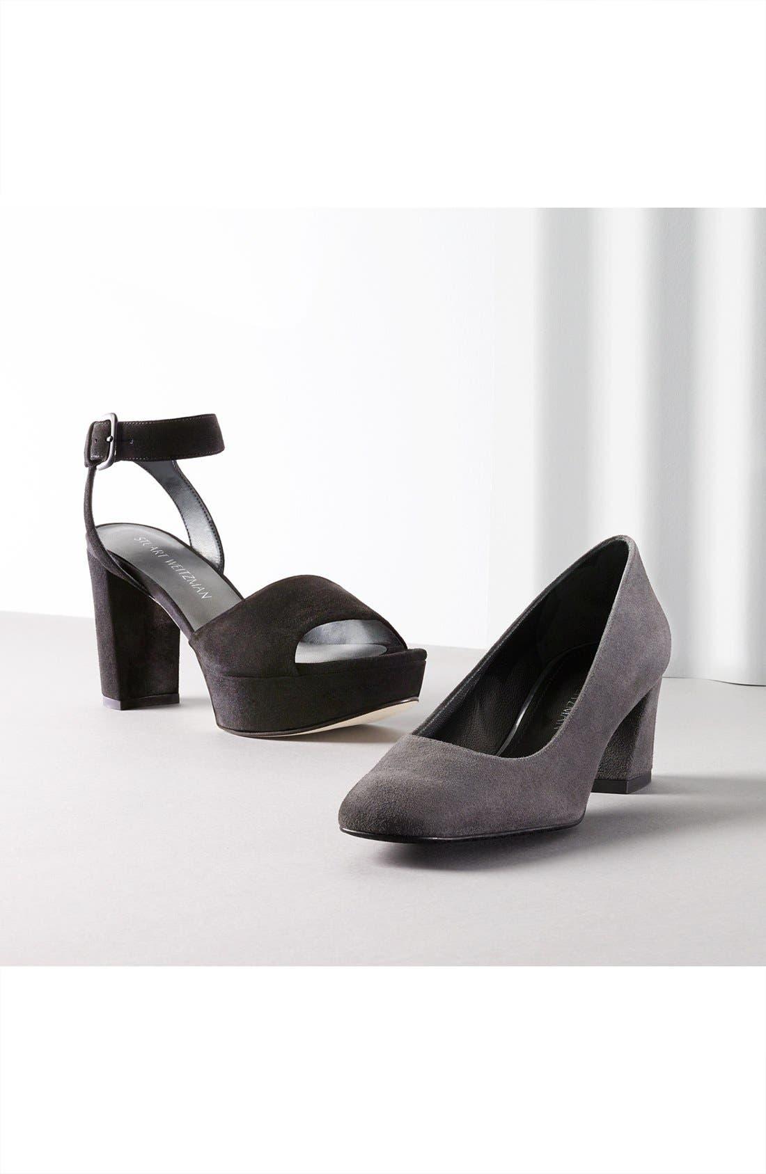 'Real Deal' Platform Sandal,                             Alternate thumbnail 5, color,                             002