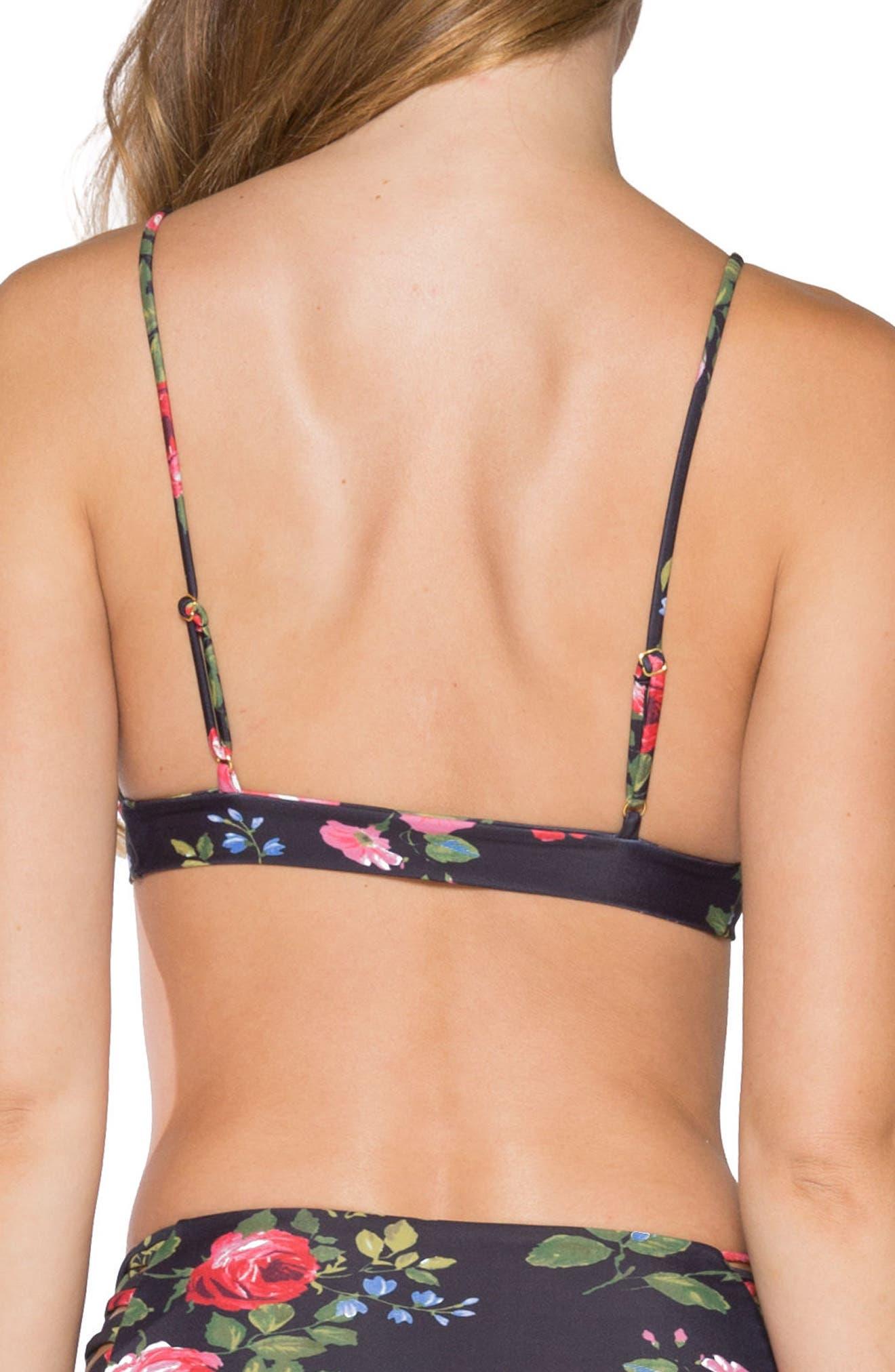 Solana Bikini Top,                             Alternate thumbnail 2, color,                             009