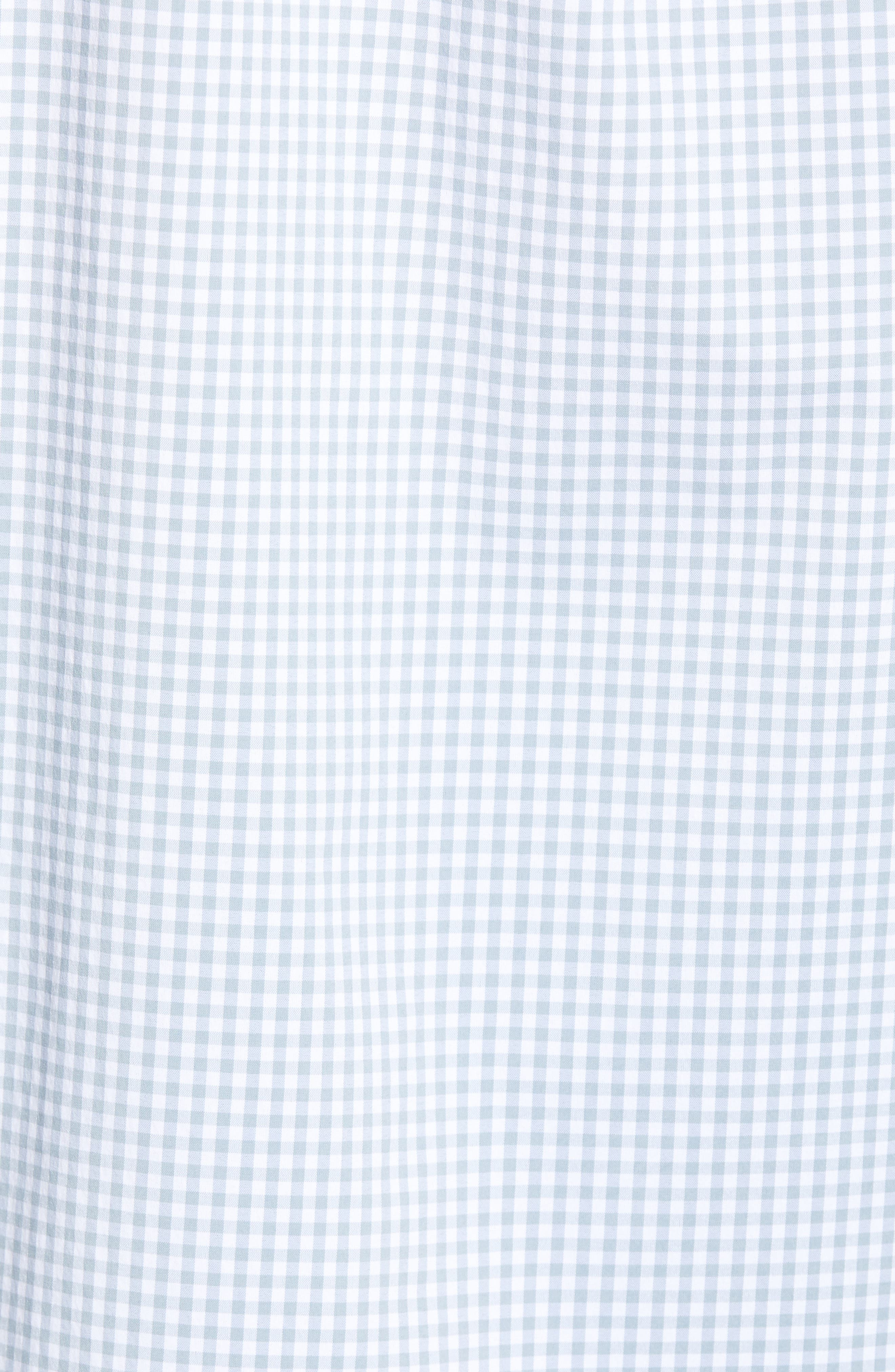 VINEYARD VINES,                             Grand Cay Tucker Regular Fit Gingham Performance Sport Shirt,                             Alternate thumbnail 5, color,                             023