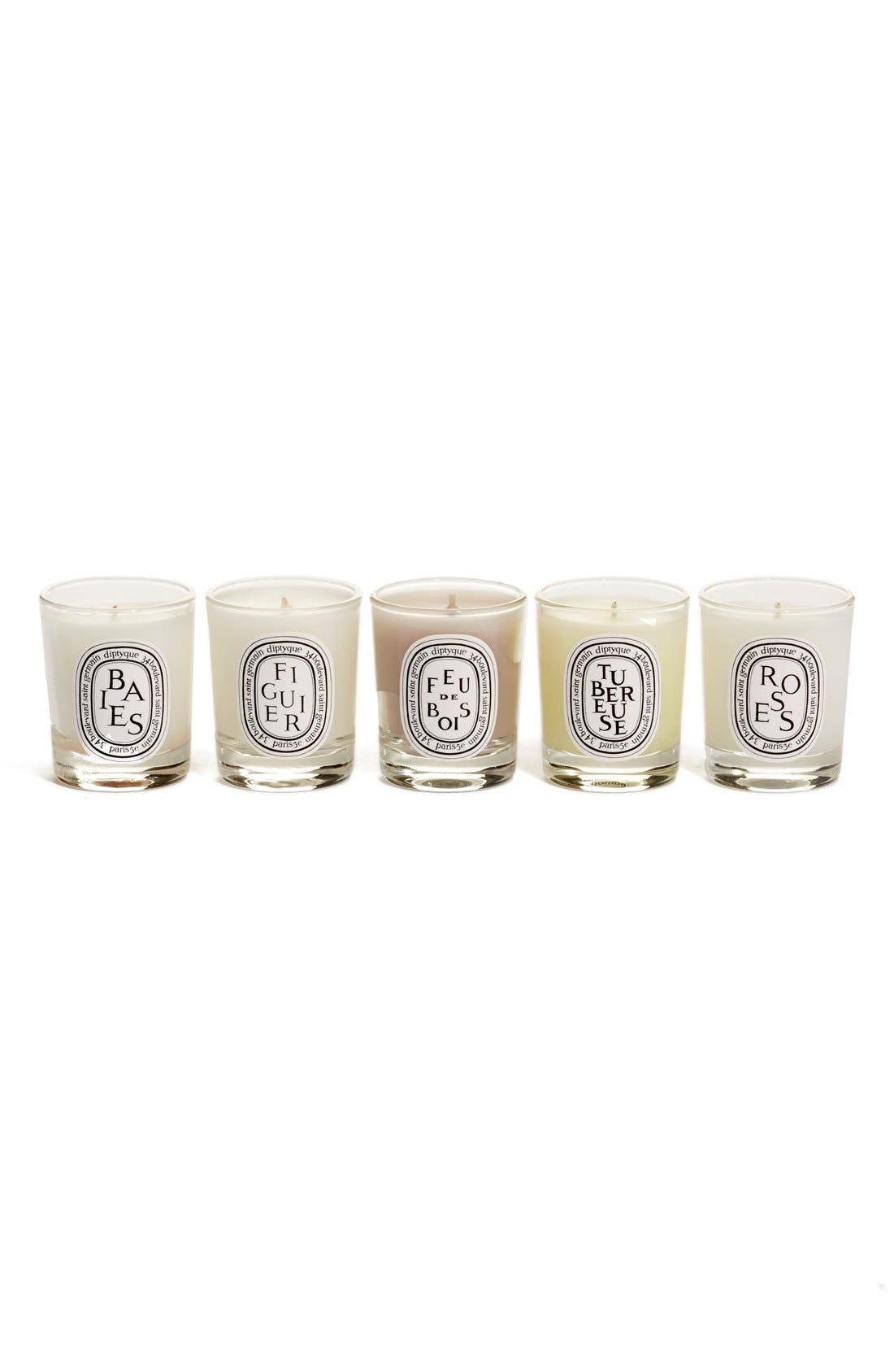 Scented Candle Set,                             Main thumbnail 1, color,                             000