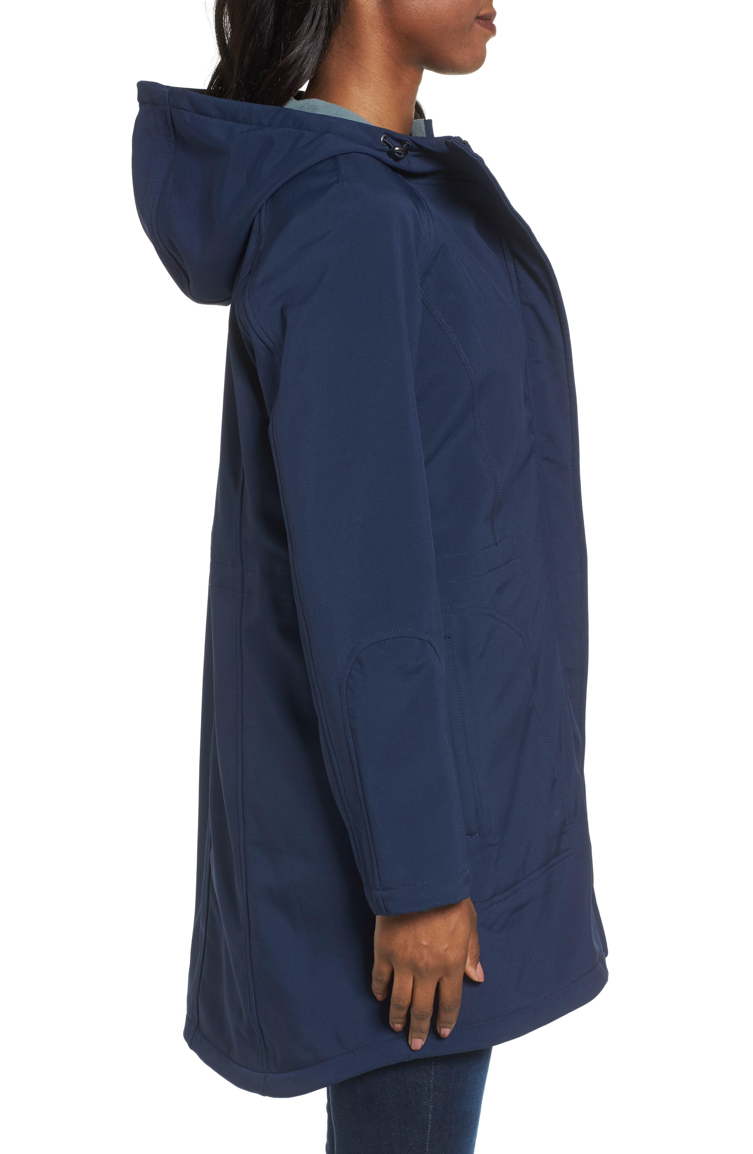 Right as Rain Fleece Lined Raincoat,                             Alternate thumbnail 8, color,