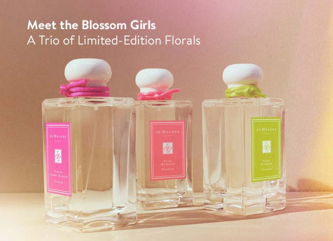 Meet the Blossom Girls - A Trio of Limited-Edition Florals.