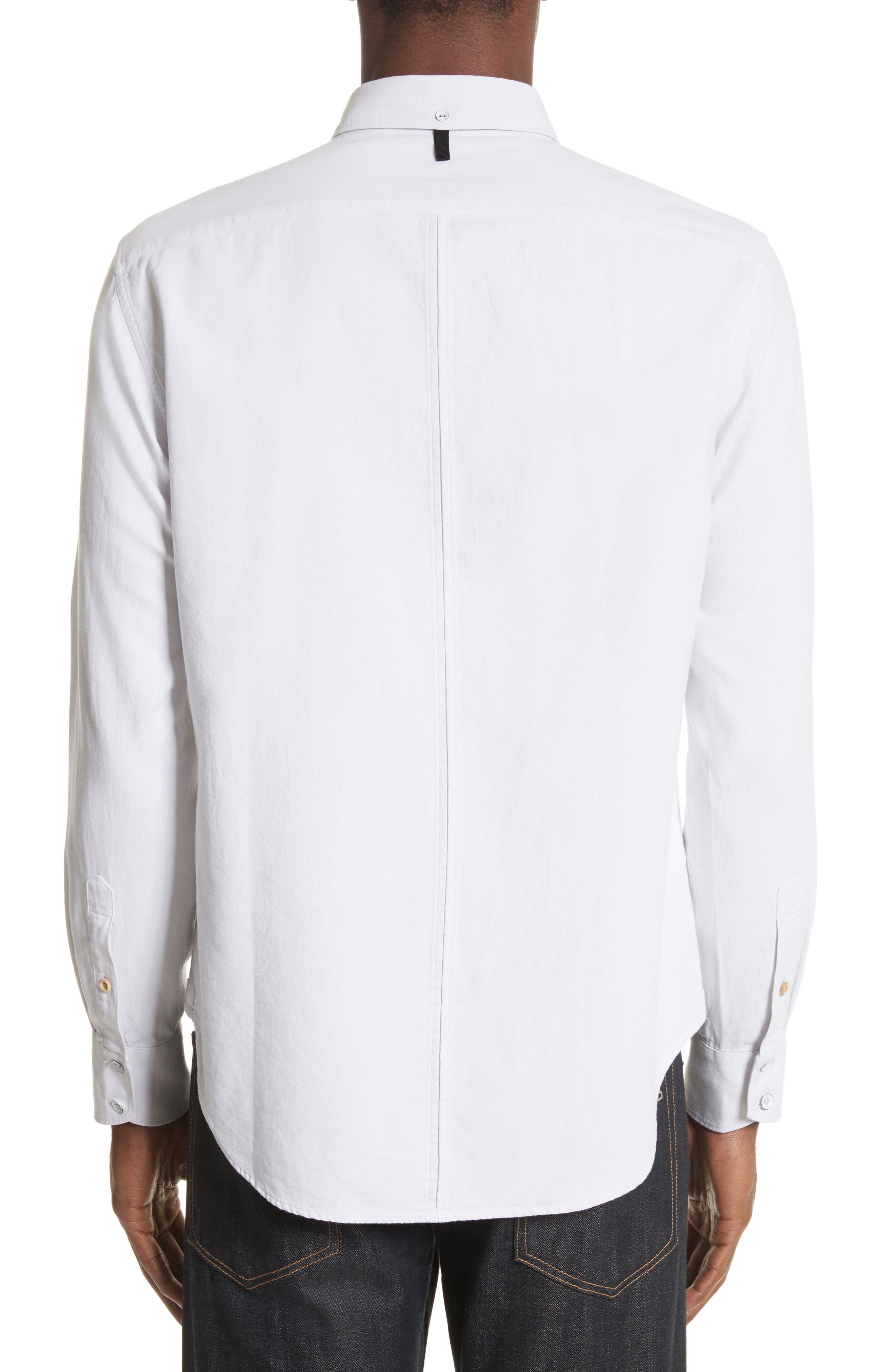 RAG & BONE,                             Tomlin Fit 2 Shirt,                             Alternate thumbnail 3, color,                             179