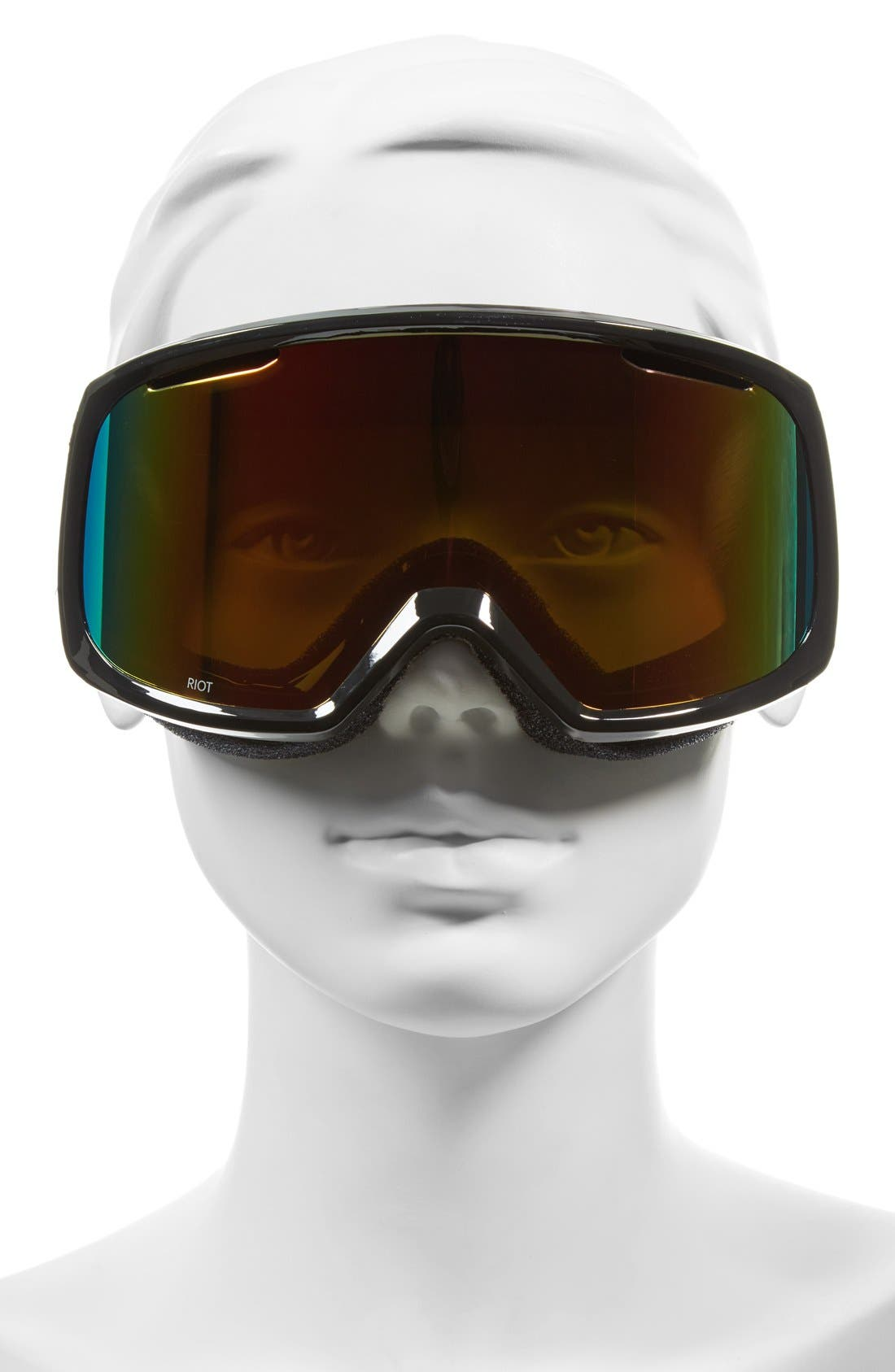 'Riot' Snow Goggles,                             Alternate thumbnail 2, color,                             001