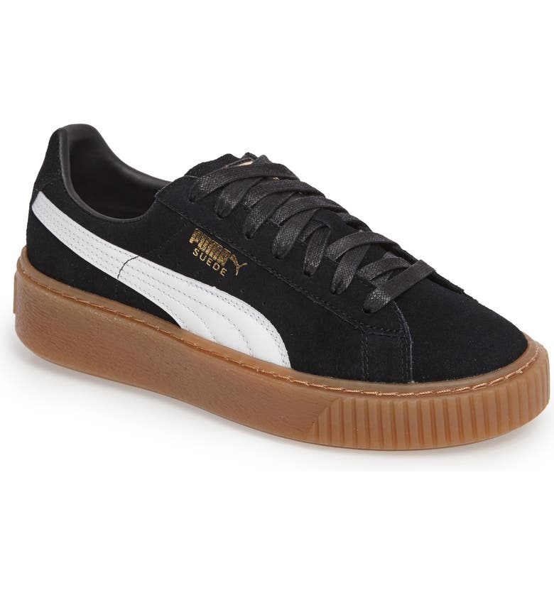 622de7702a0875 PUMA Suede Platform Core Sneaker (Women)