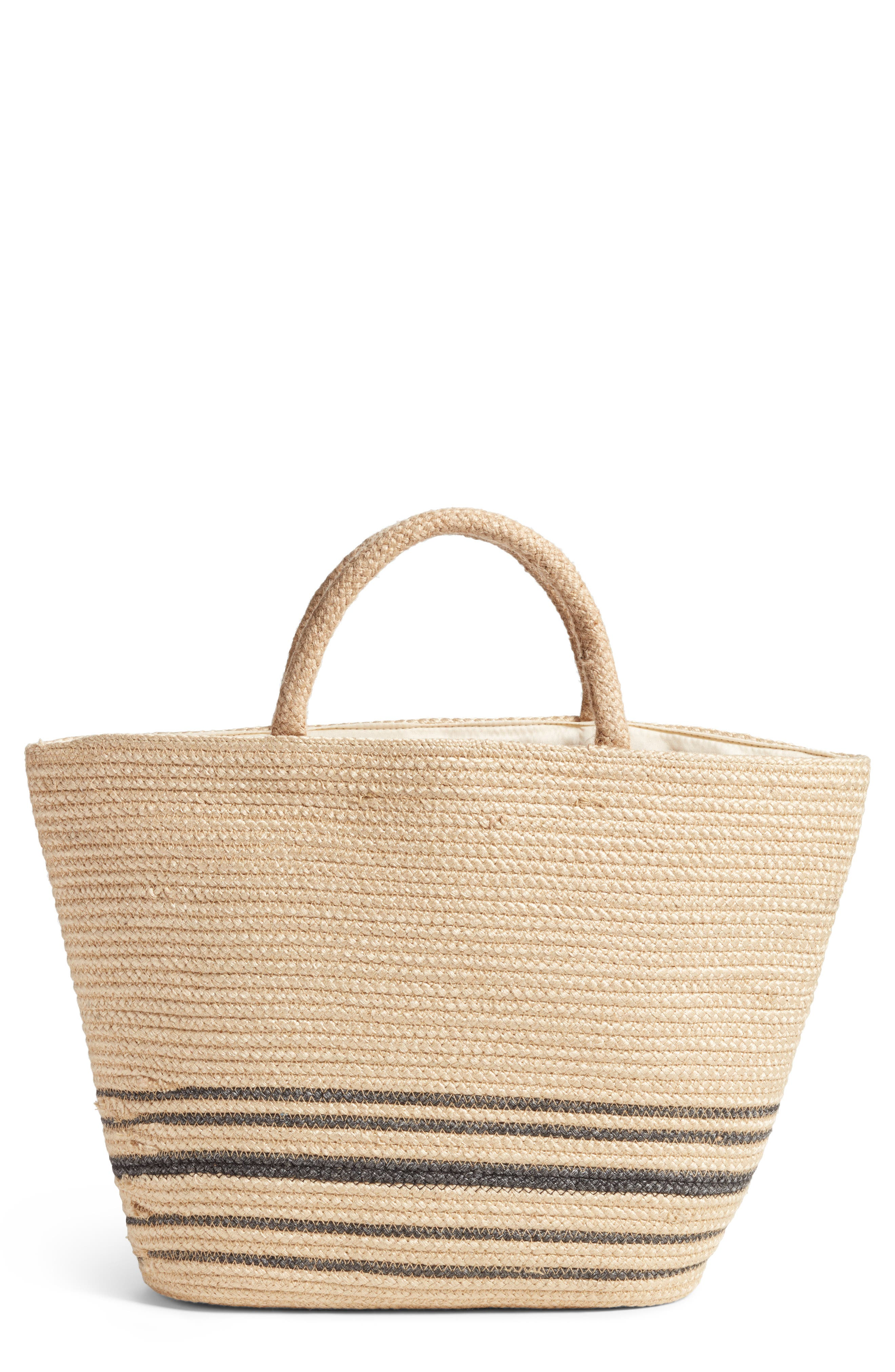 Forever Vacay Jute Bag,                             Main thumbnail 1, color,