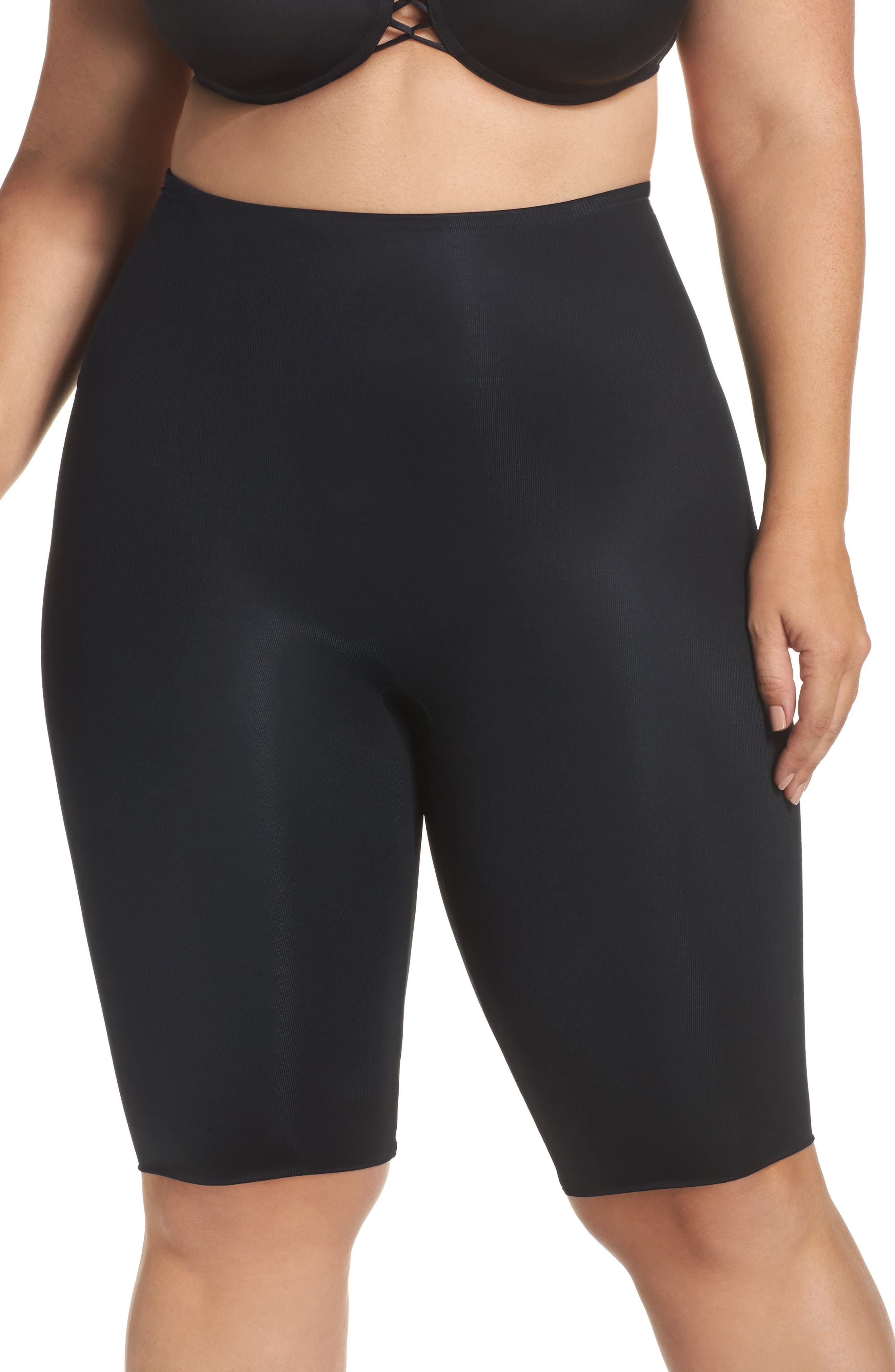 Power Conceal-Her Mid-Thigh Shorts,                             Main thumbnail 1, color,                             019