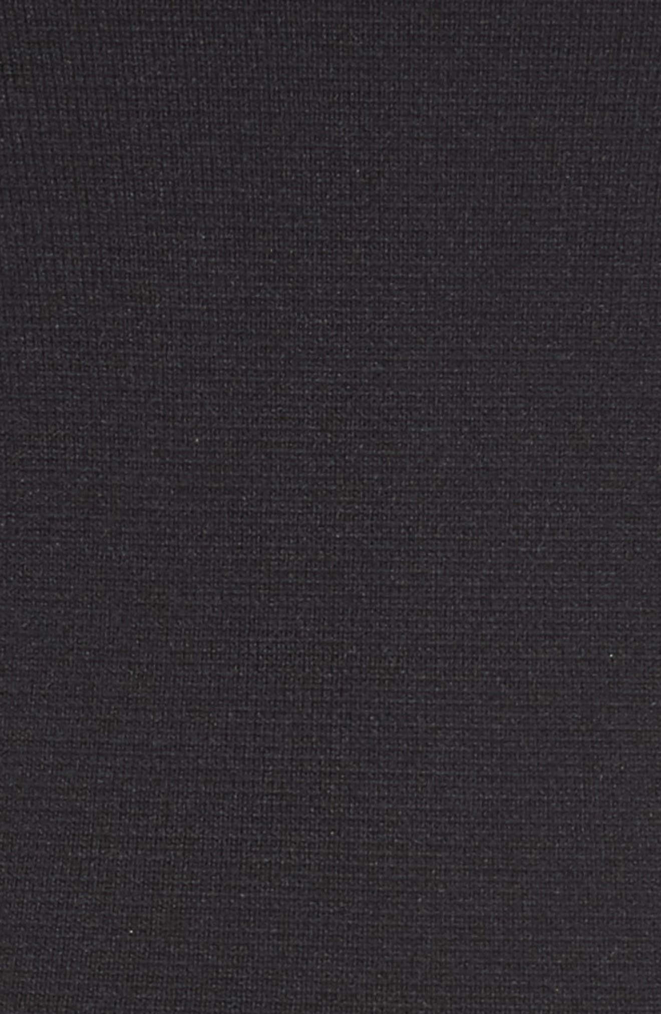 Ryker Fit & Flare Dress,                             Alternate thumbnail 5, color,                             001