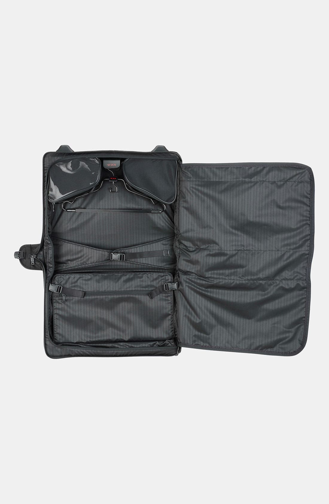 TUMI,                             'Alpha' Wheeled Carry-On Garment Bag,                             Alternate thumbnail 3, color,                             001