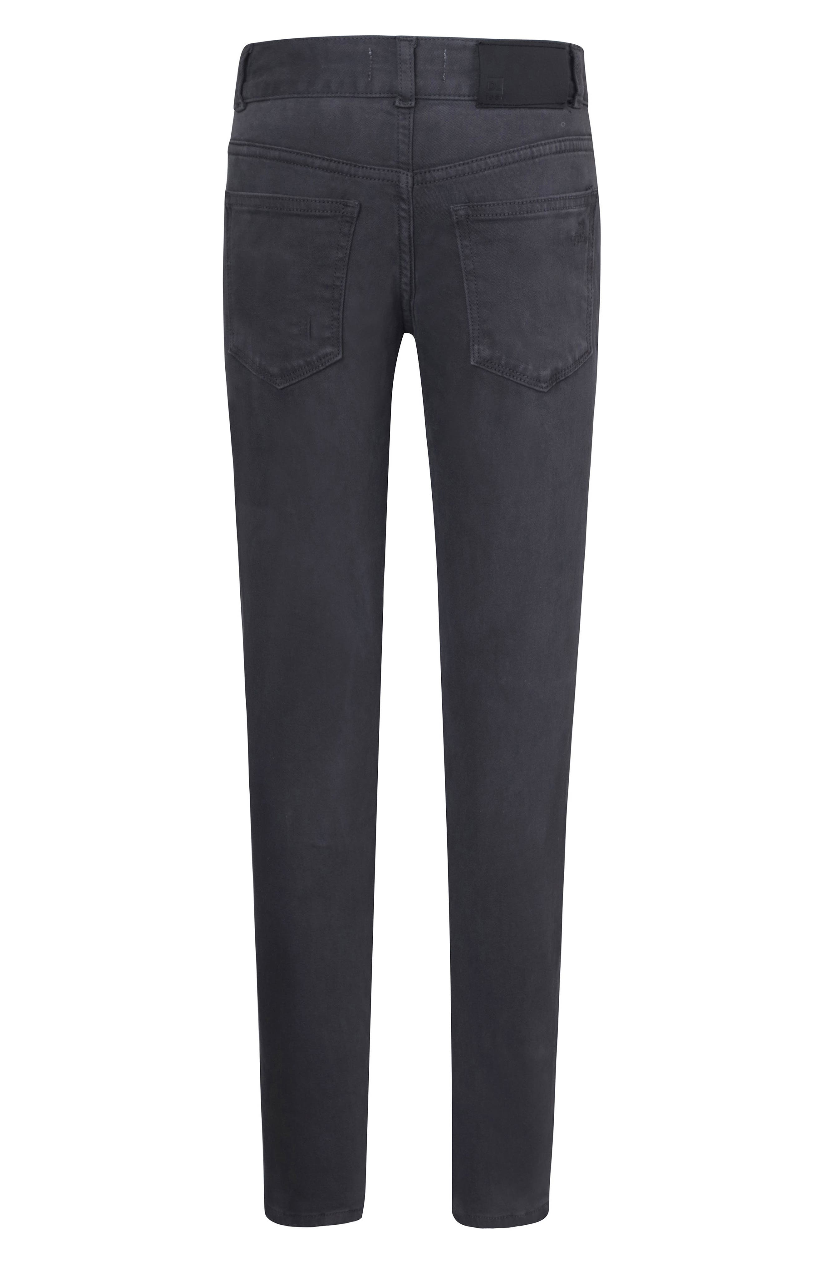 DL 1961 Hawke Skinny Jeans,                             Alternate thumbnail 2, color,                             DAB
