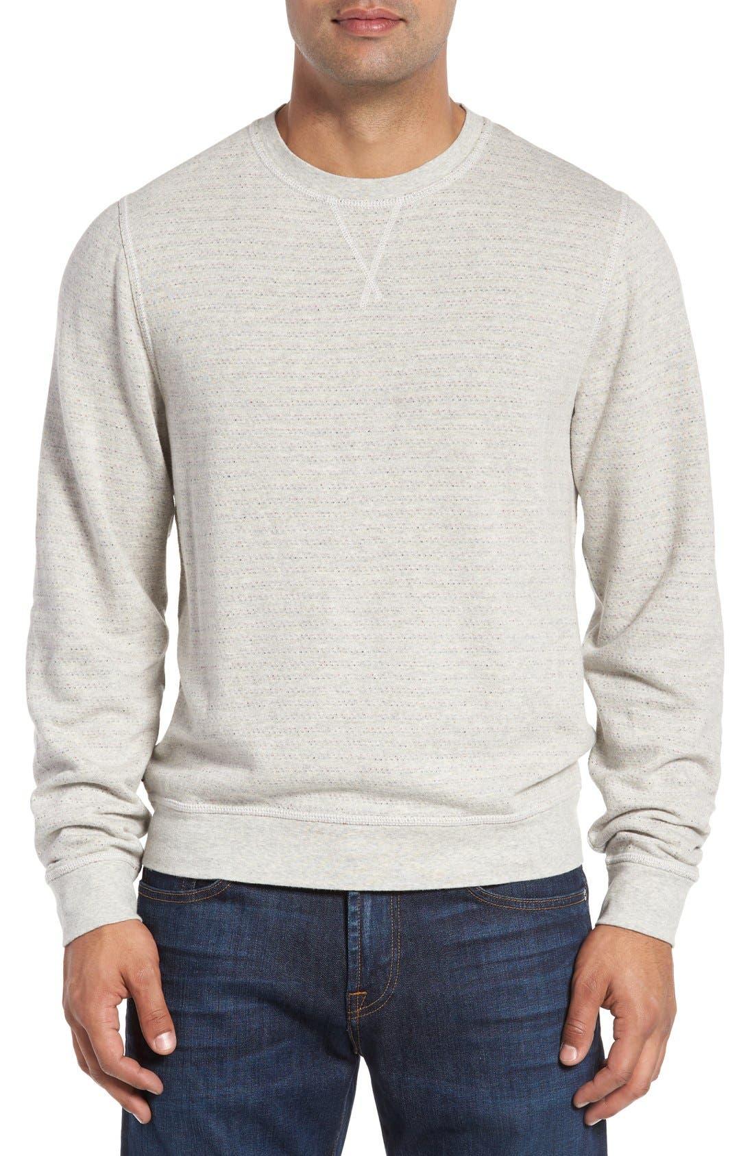 'Gleann' French Terry Crewneck Sweatshirt,                             Main thumbnail 1, color,                             250