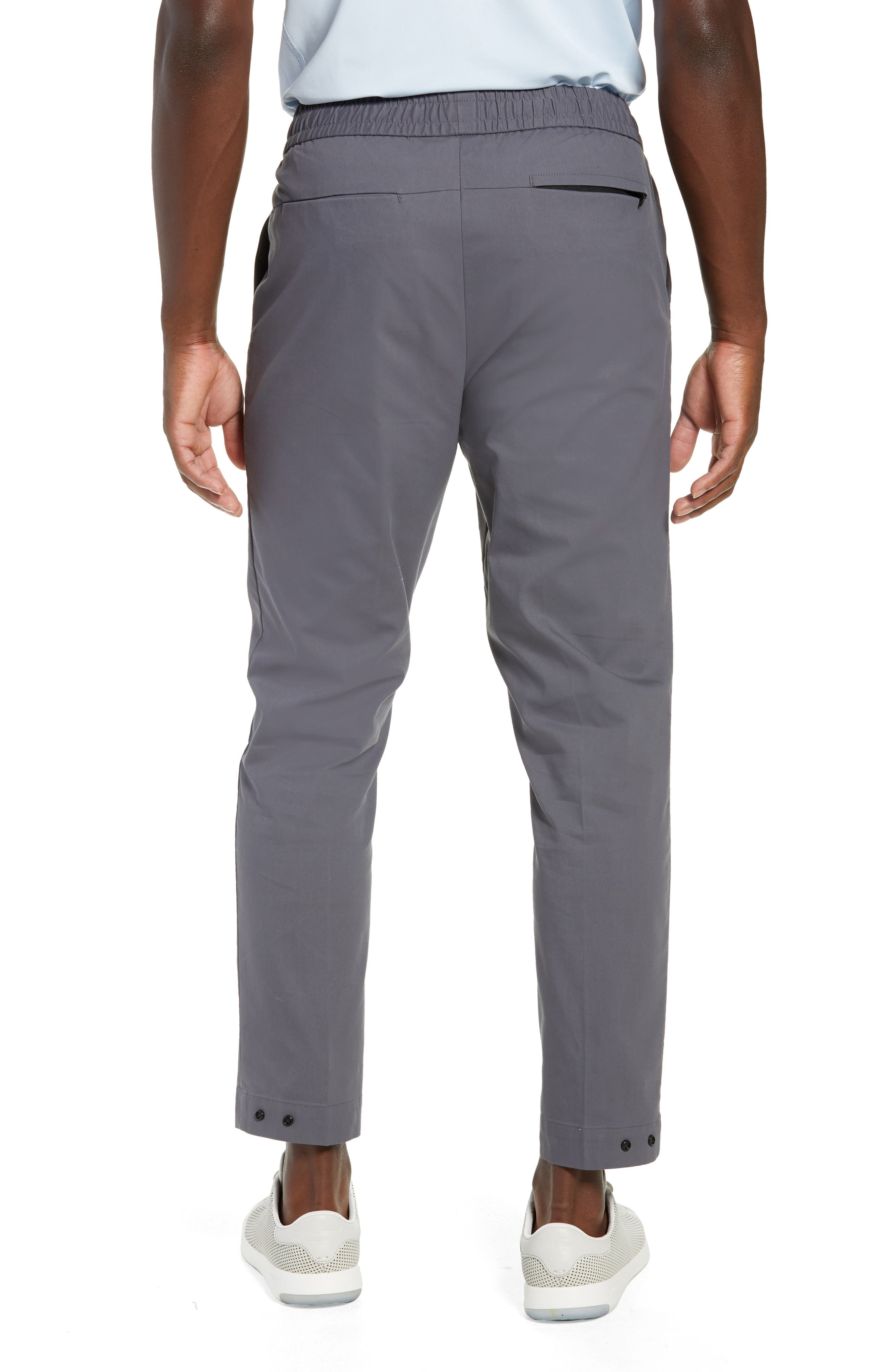 Slim Fit Tech E-Waist Pants,                             Alternate thumbnail 2, color,                             THUNDERCLOUD