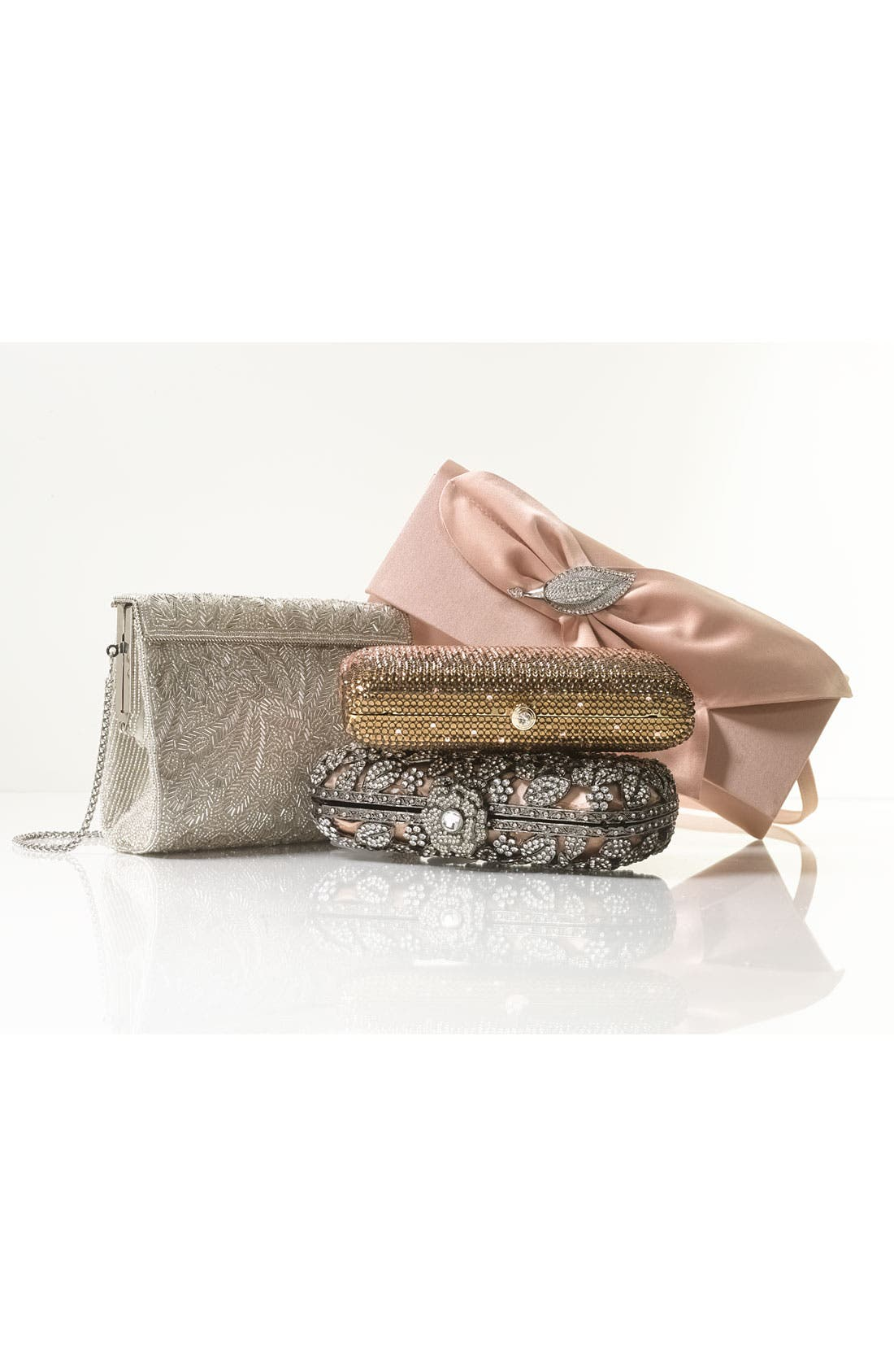 'Meadow' Beaded Frame Clutch,                             Alternate thumbnail 7, color,                             472