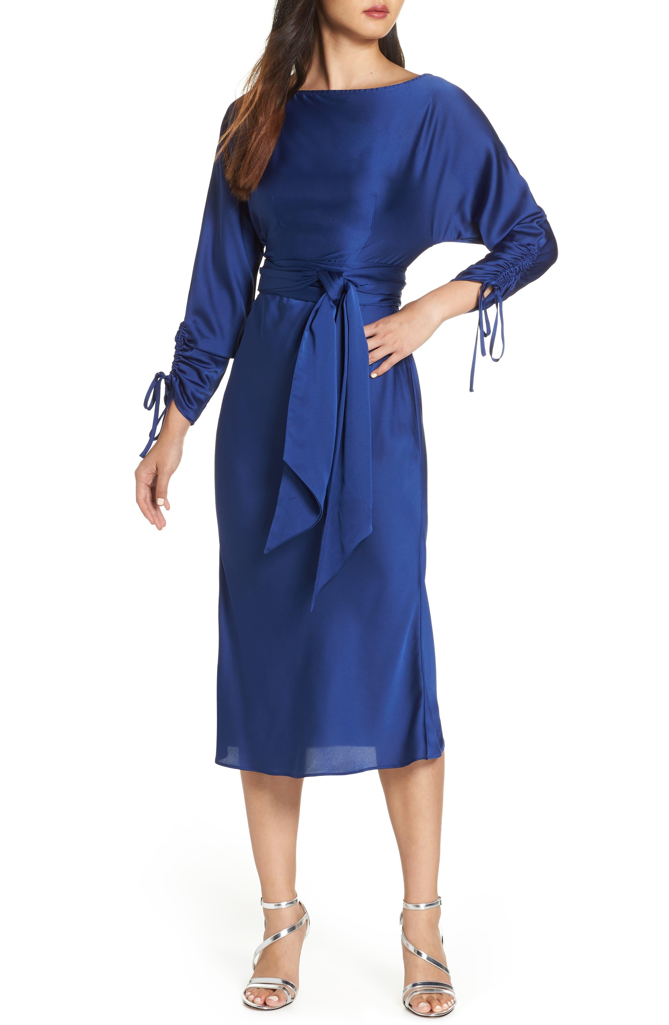 KEEPSAKE THE LABEL Uncovered Midi Dress, Main, color, 430