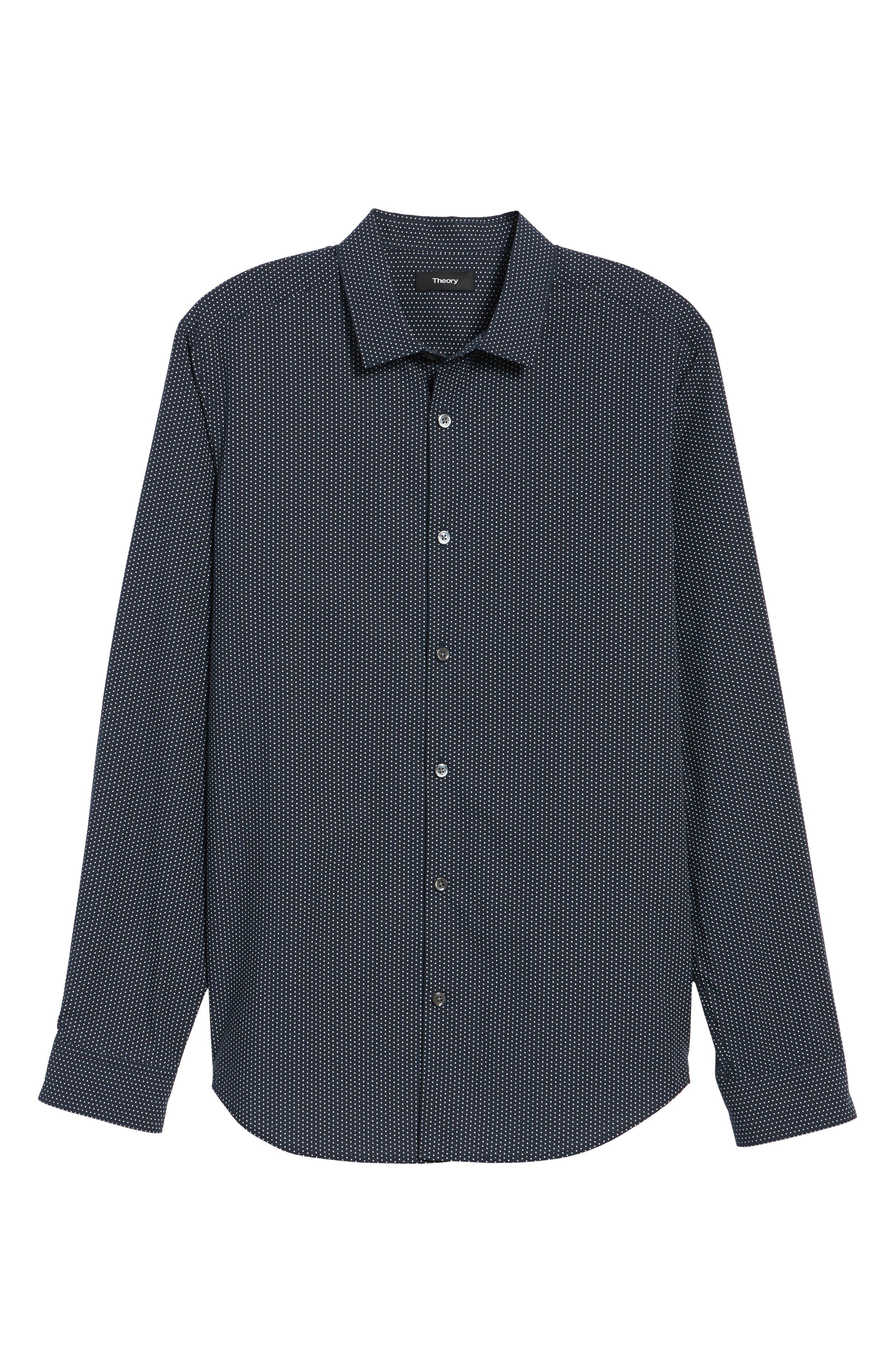 Murray Slim Fit Sport Shirt,                             Alternate thumbnail 12, color,