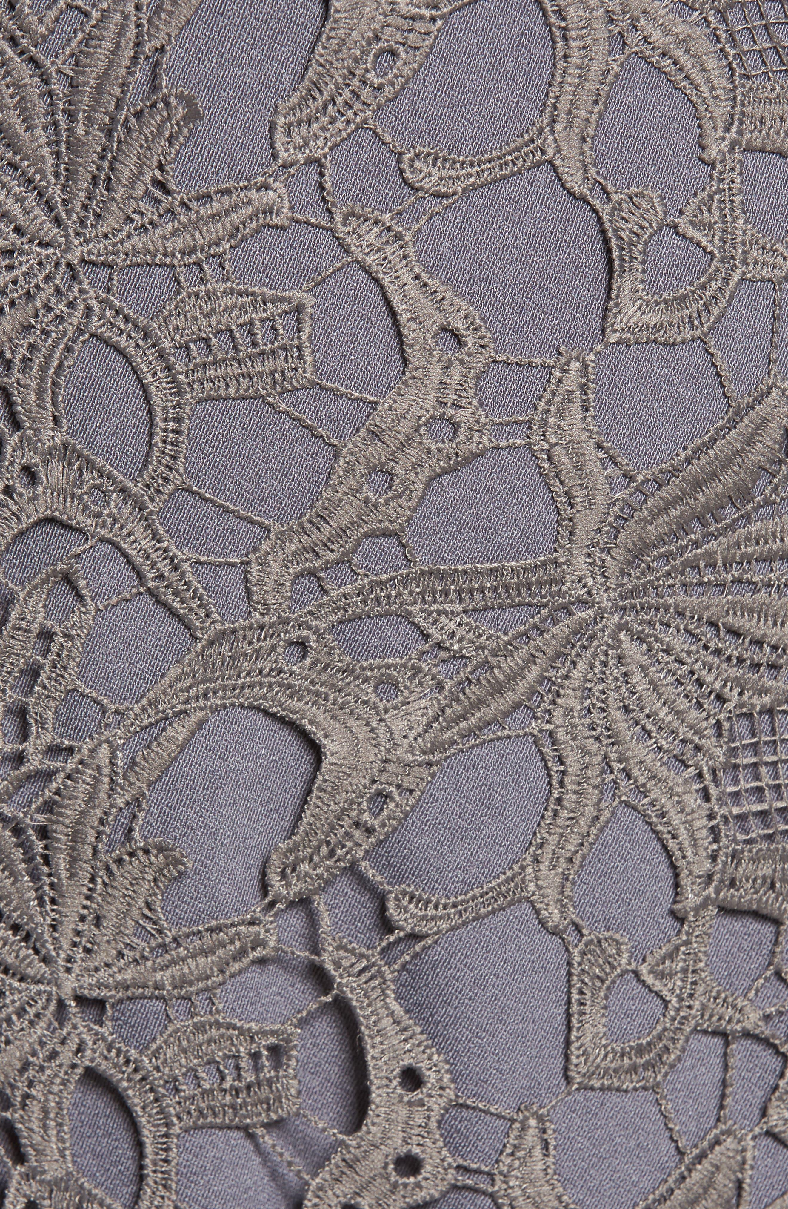 Choker Lace Dress,                             Alternate thumbnail 5, color,                             020