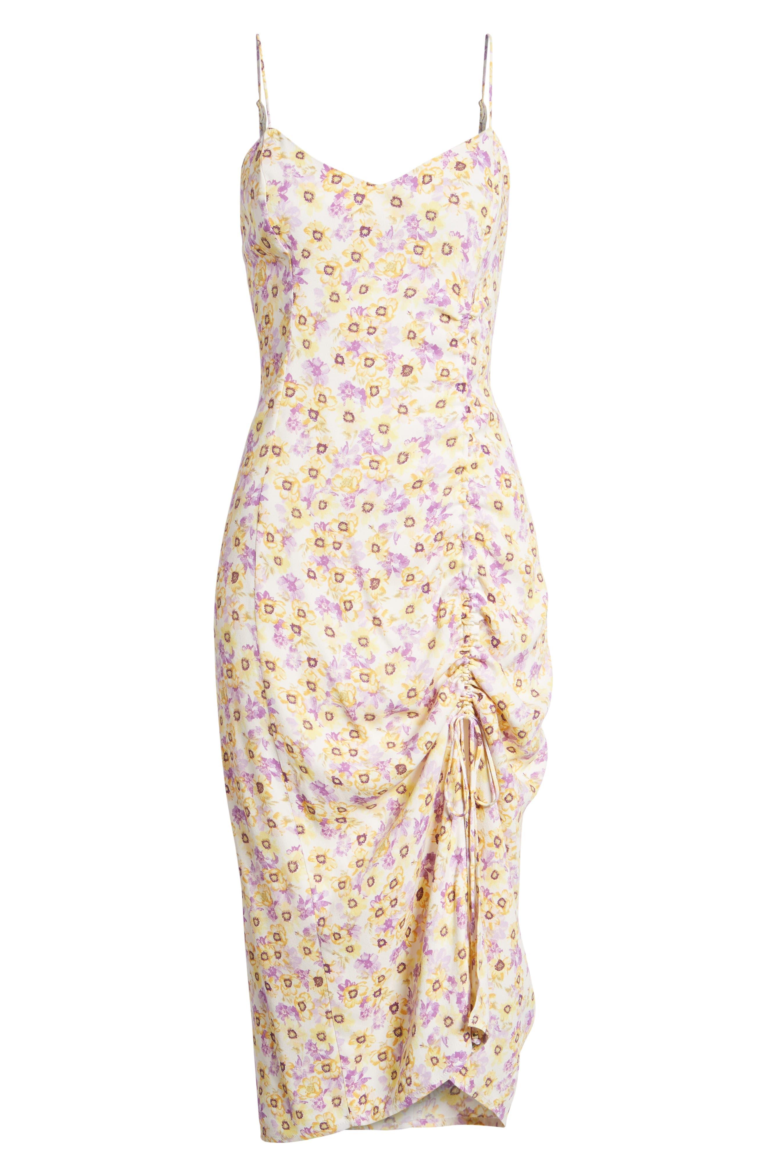 Favor Ruched Midi Dress,                             Alternate thumbnail 13, color,