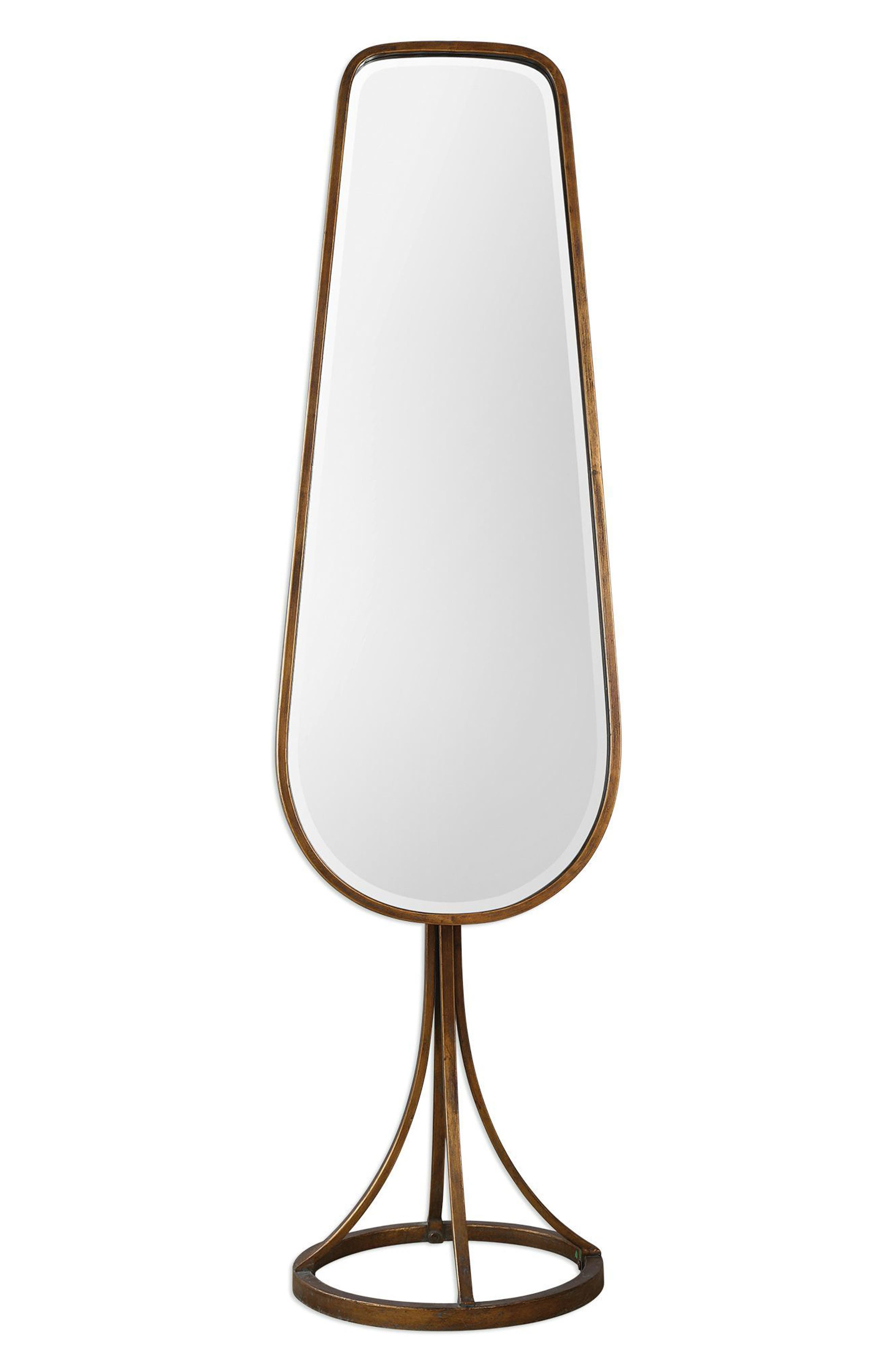Gavar Cheval Floor Mirror,                             Main thumbnail 1, color,                             200