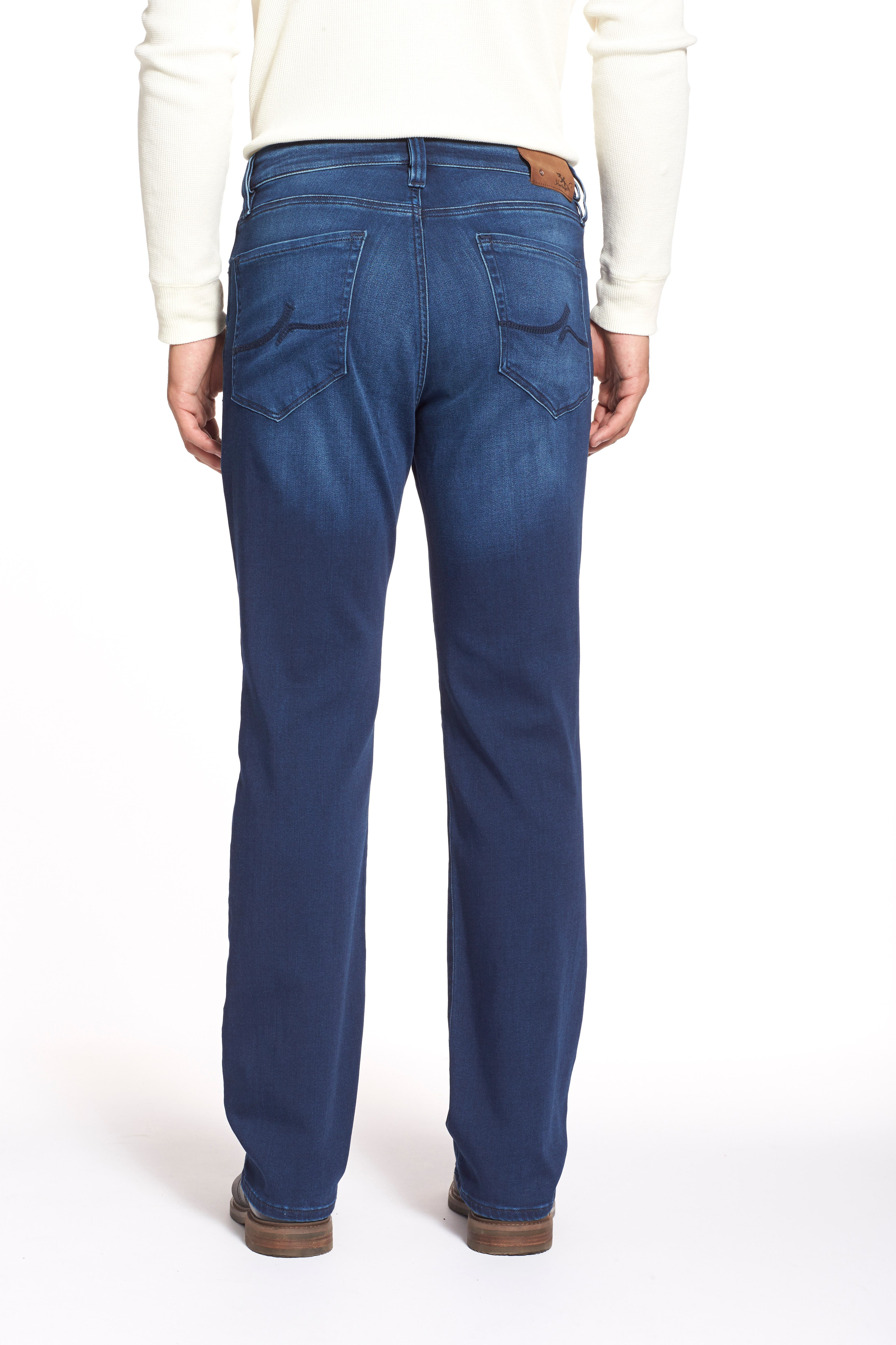 'Charisma' Relaxed Fit Jeans,                             Alternate thumbnail 6, color,                             401